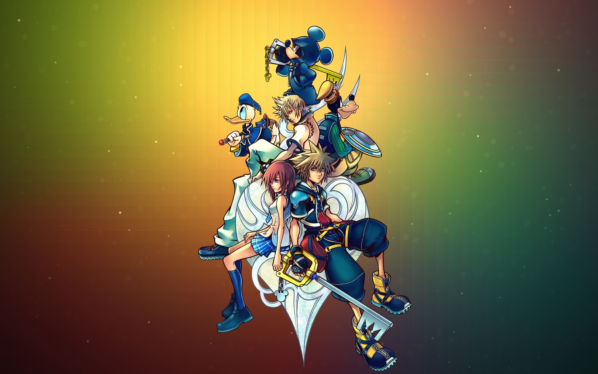Res: 1920x1200, #video games, #Kingdom Hearts, wallpaper
