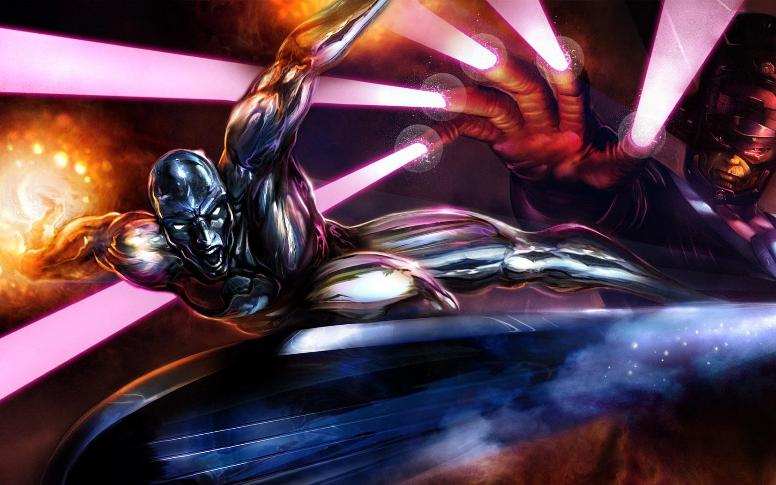 Res: 2560x1600, comics silver surfer marvel comics galactus 1680x1050 wallpaper Art HD