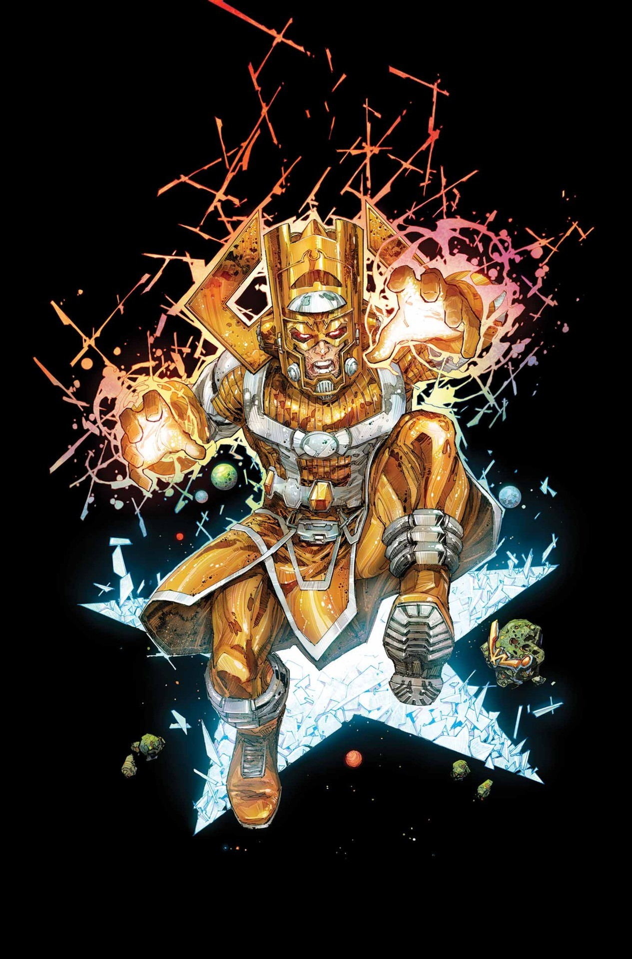 Res: 1265x1920, Can someone make this image of Galactus, Lifebringer, into a 1920x1080  wallpaper?