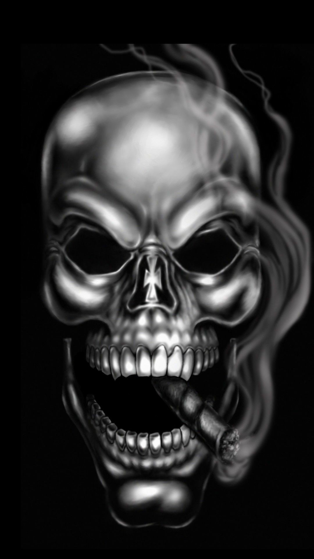 Evil Skull Wallpapers Hd Wallpaper Collections 4kwallpaper Wiki