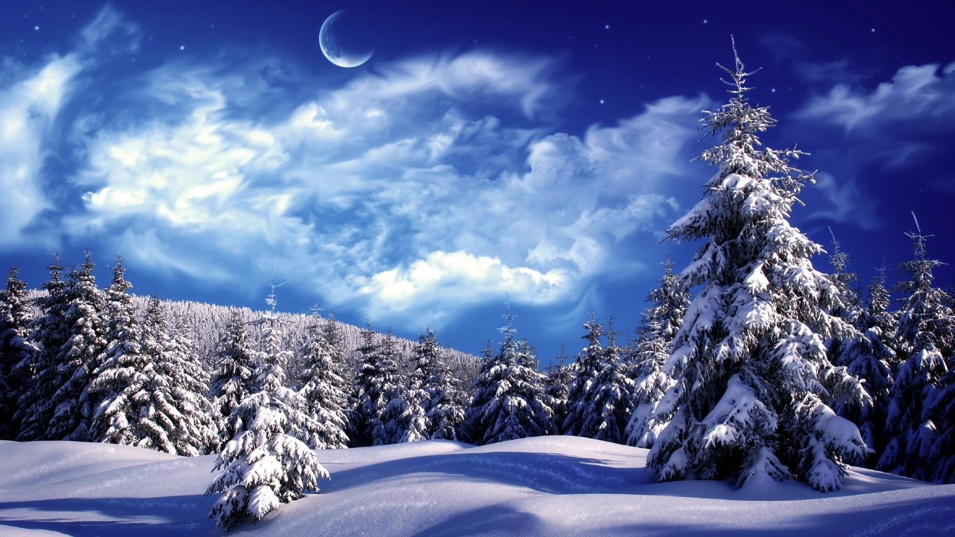 Res: 1920x1080, 1280x1024 Winter Snow Scenes Wallpapers Group (92+)