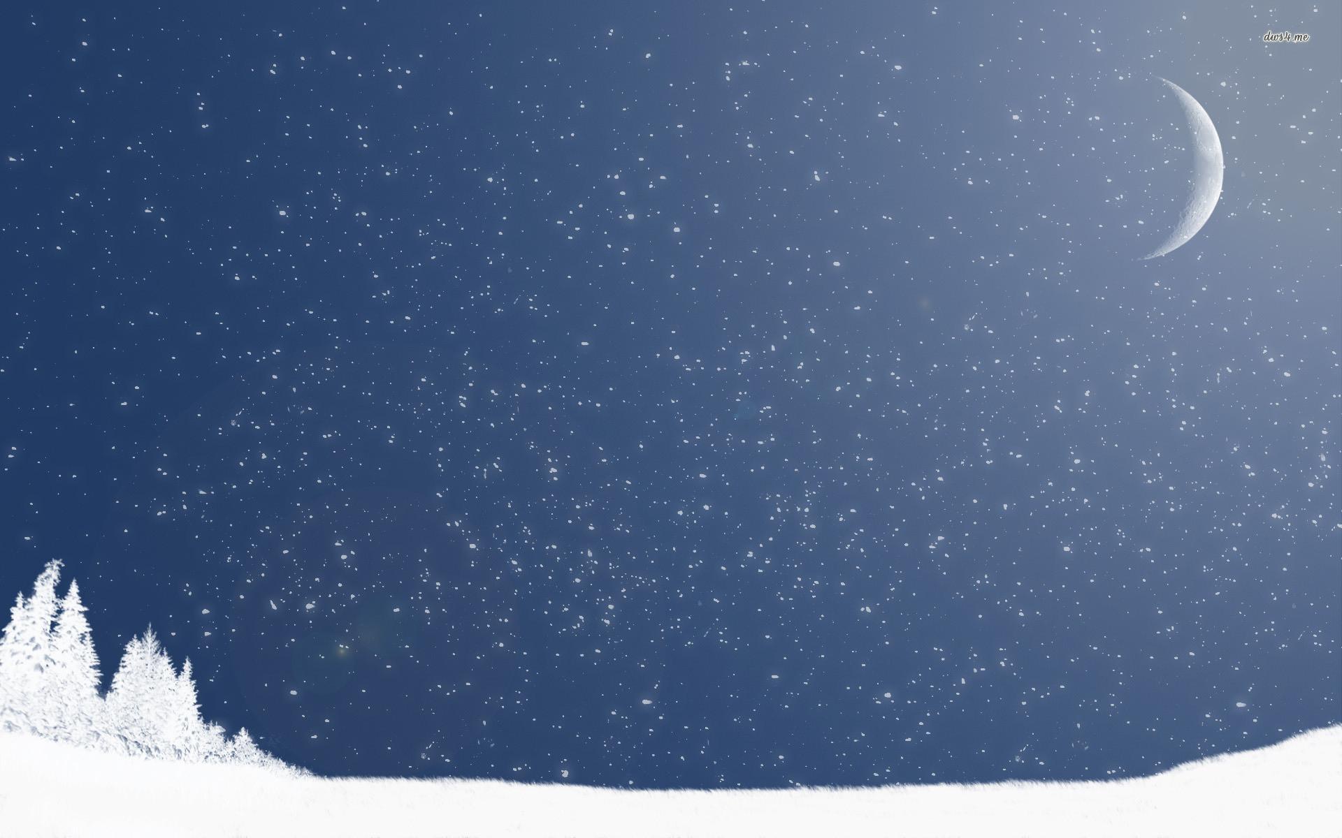 Res: 1920x1200, ... Snowfall wallpaper  ...
