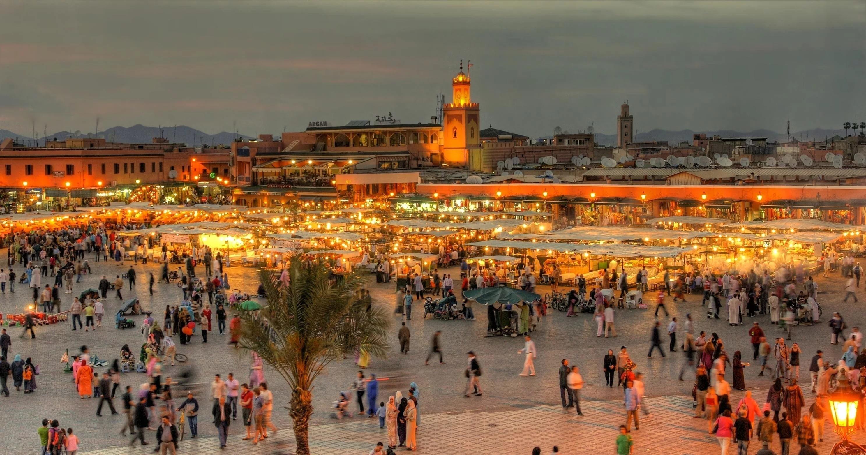 Res: 2973x1562, 3840x2160 Morocco Wallpaper
