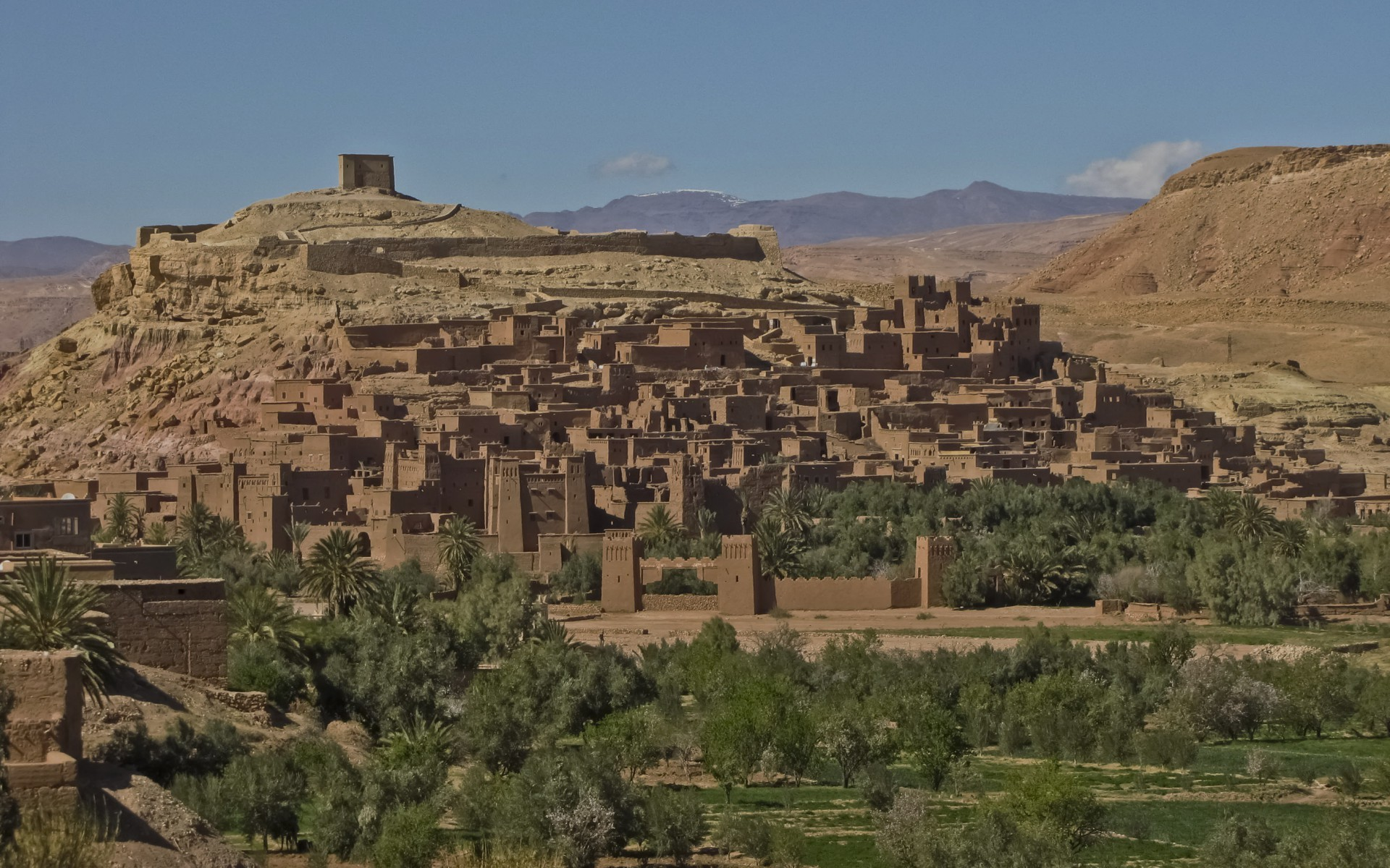 Res: 1920x1200, Image: Ait Ben Haddou Morocco wallpapers and stock photos. Â«