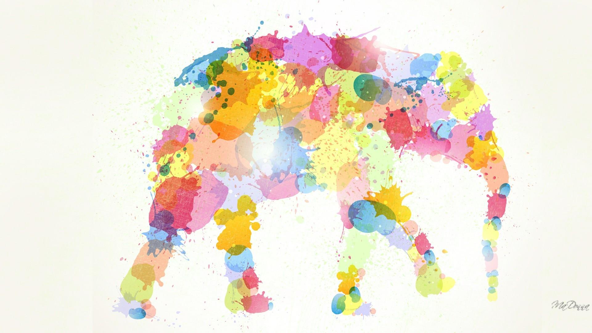 Res: 1920x1080, Elephant Desktop Wallpaper