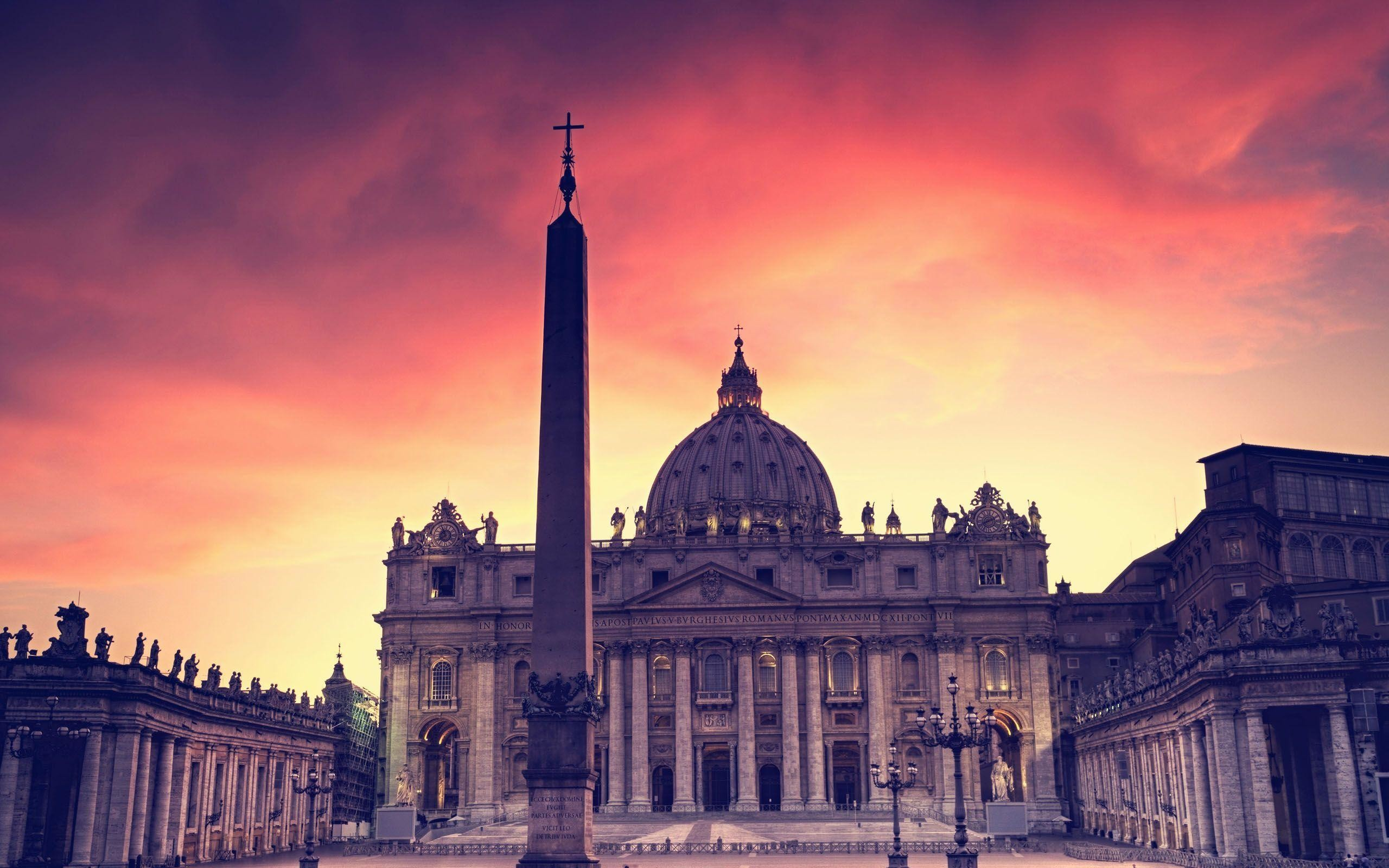 Res: 2560x1600, The Vatican City | Wallpapers for PC