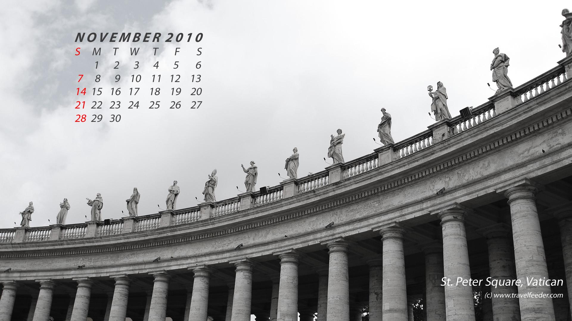 Res: 1920x1080, Vatican Animated November Calendar Photo wallpapers HD 151360