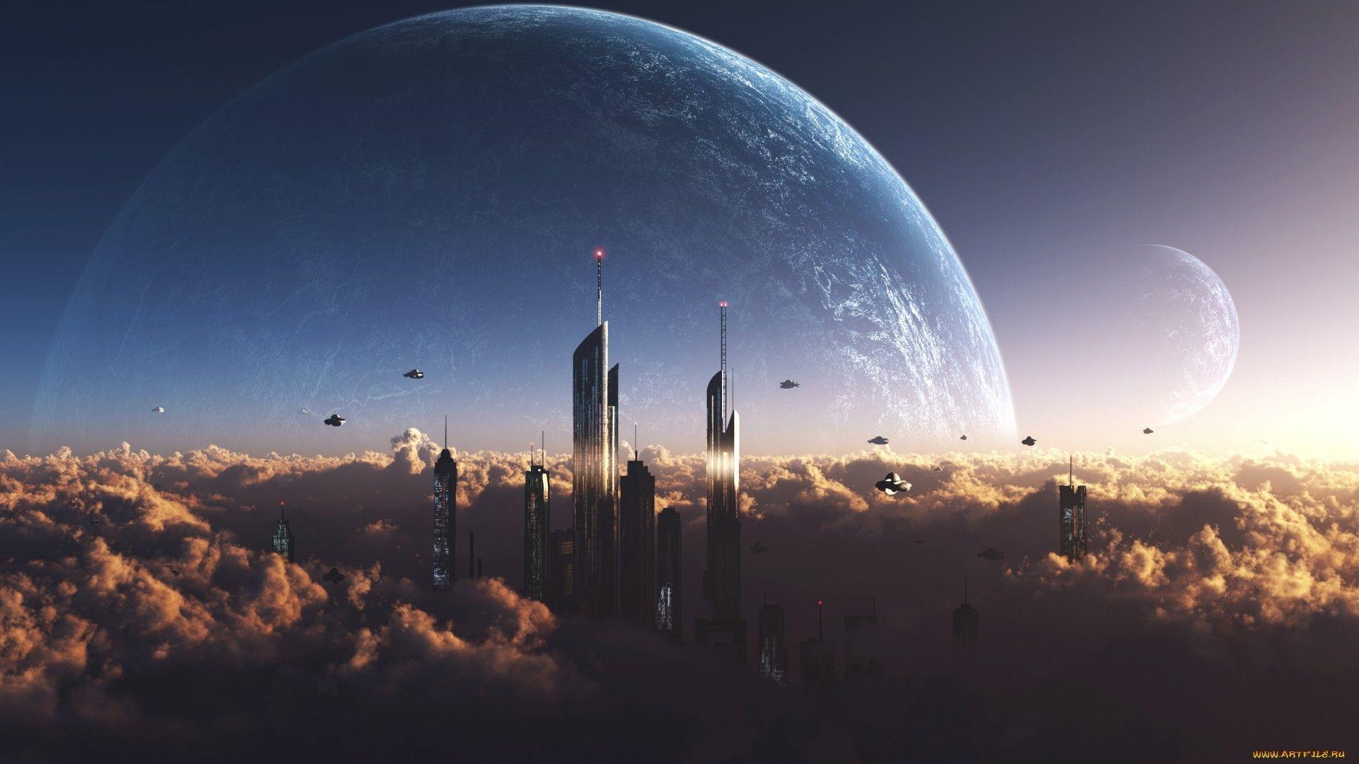Res: 1920x1080, Sci Fi - City Wallpaper