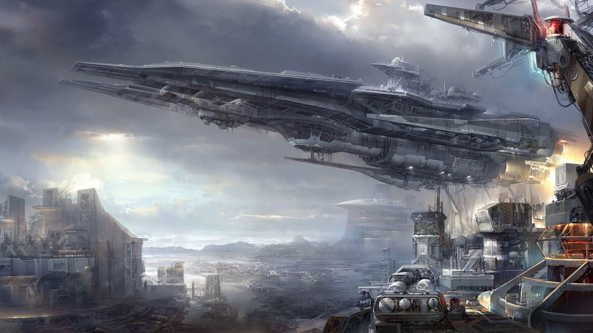 Res: 1920x1080, Science Fiction Wallpapers - Wallpaper Cave