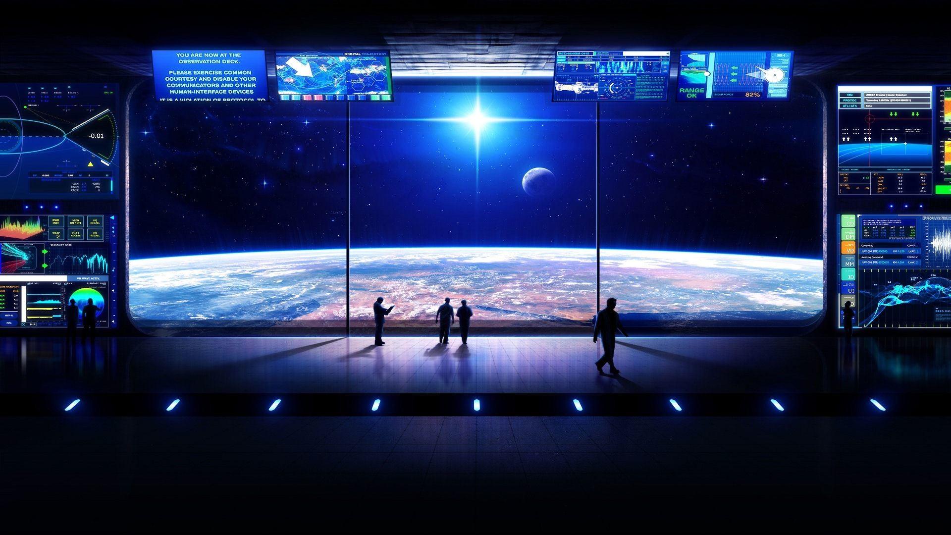 Res: 1920x1080, scifi-wallpaper-space-ship