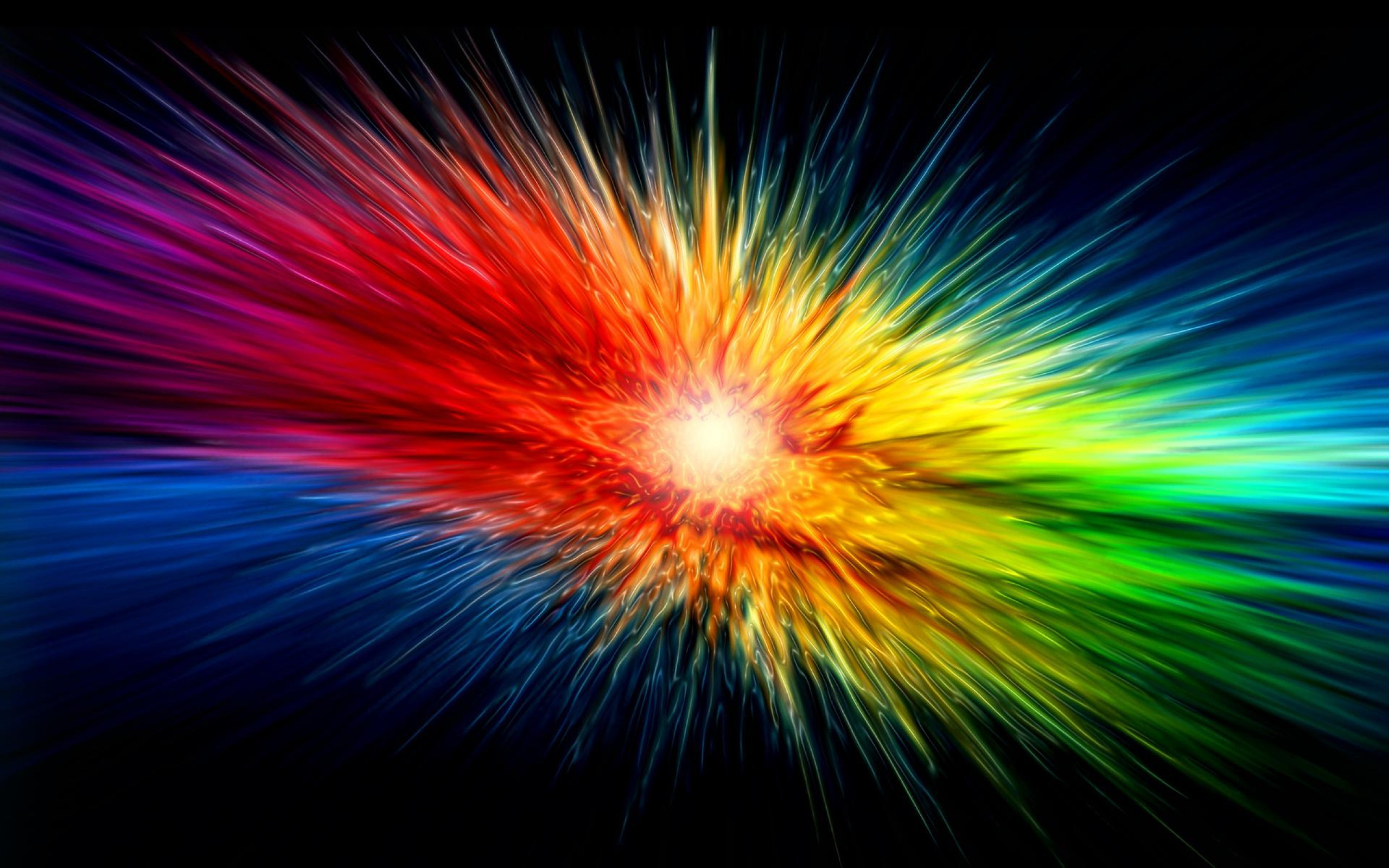 Res: 2560x1600, abstract colorful colorful explosion wallpaper