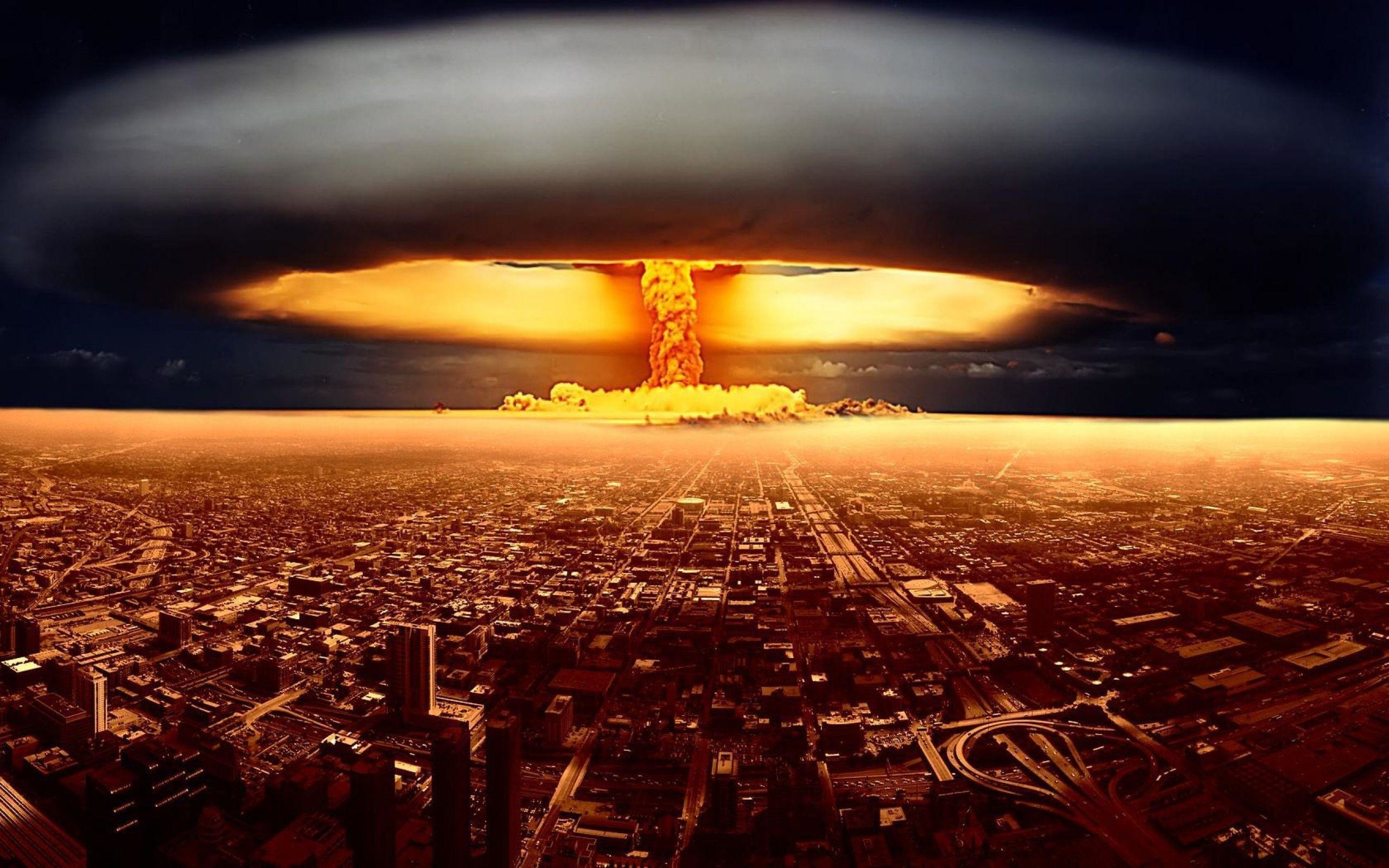 Res: 2560x1600,  Download Nuclear Explosion Wallpaper Picture Pictures