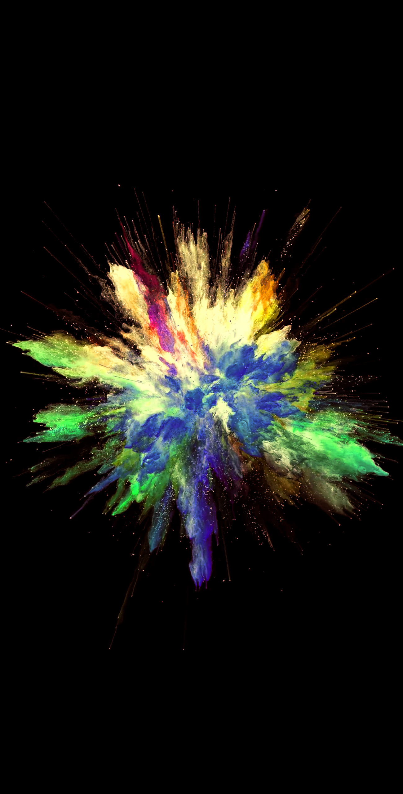 Res: 1300x2560, Colorful explosion [] video live wallpaper in comments! Download  at: http: