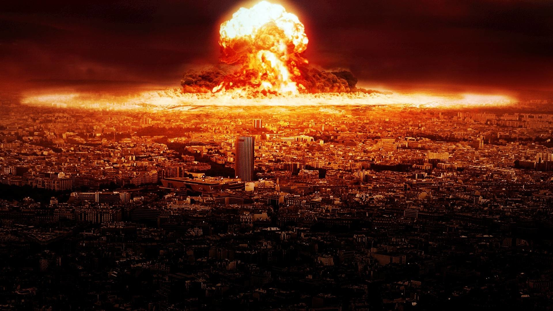 Res: 1920x1080, Sci Fi - Apocalyptic Nuclear Blast Explosion Bomb Nuclear Bomb Wallpaper  2560x1600