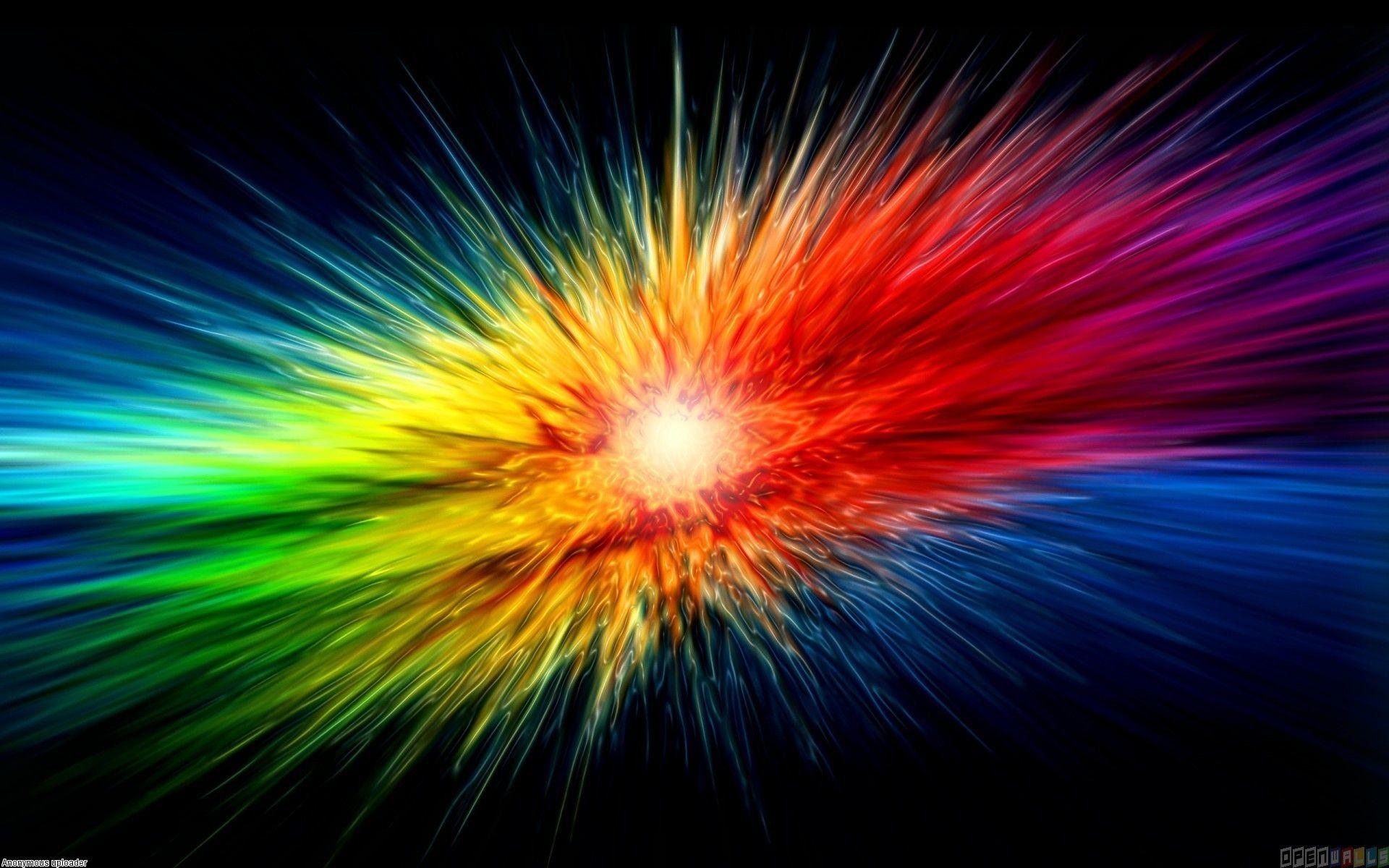 Res: 1920x1200, Download explosion color hd wallpaper.