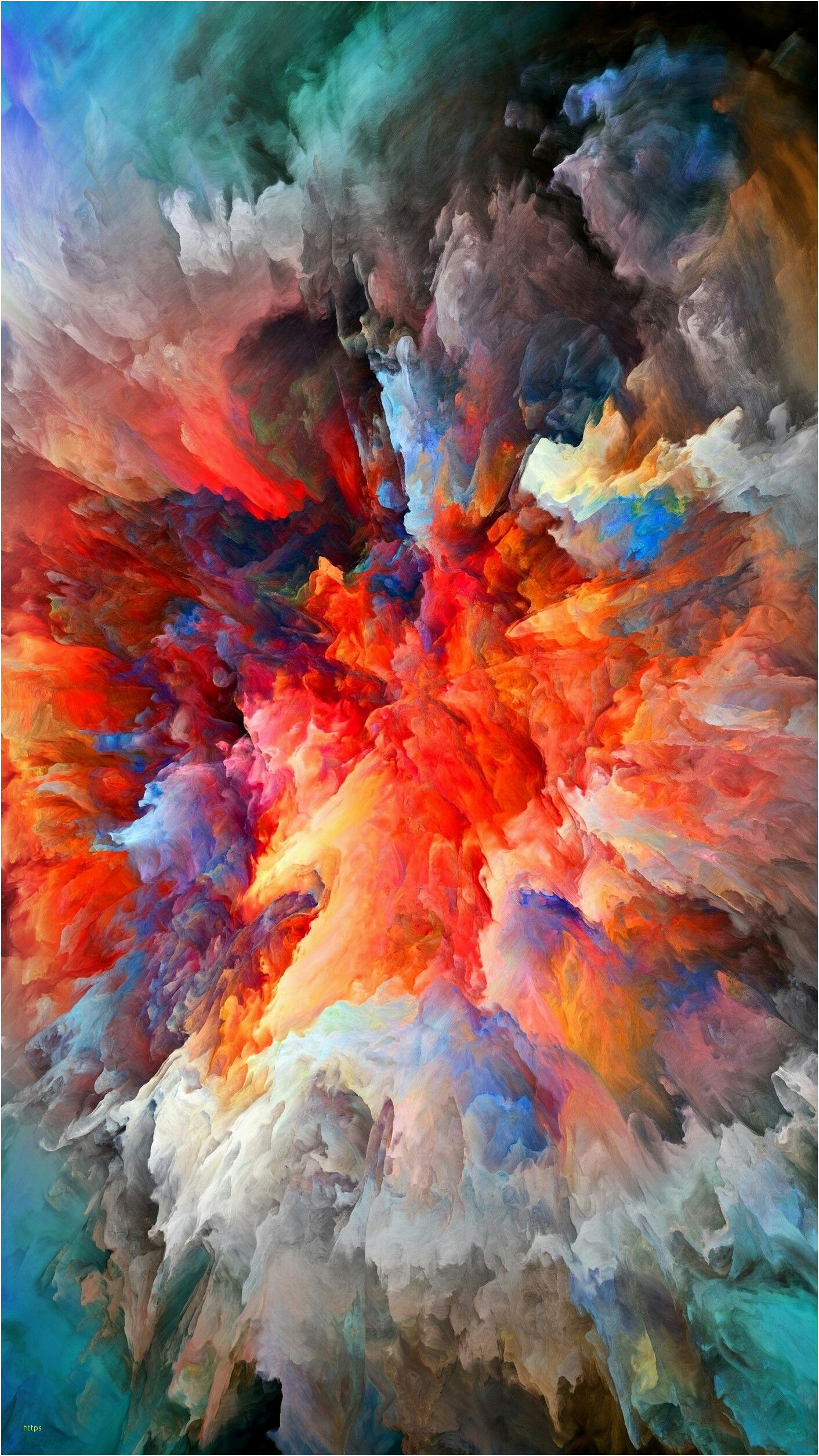 Res: 1412x2510, Explosion Wallpaper Awesome Colorful Smoke Explosion Wallpapers In 2018  Pinterest