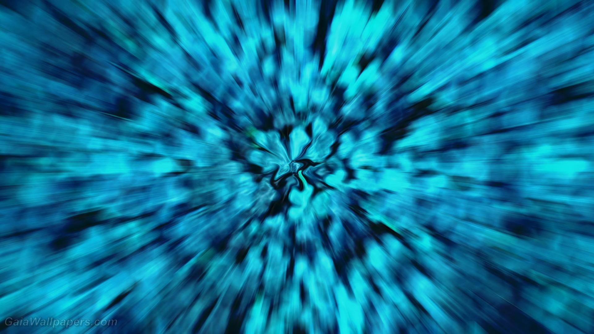 Res: 1920x1080, Powerful virtual blue explosion - Free desktop wallpapers