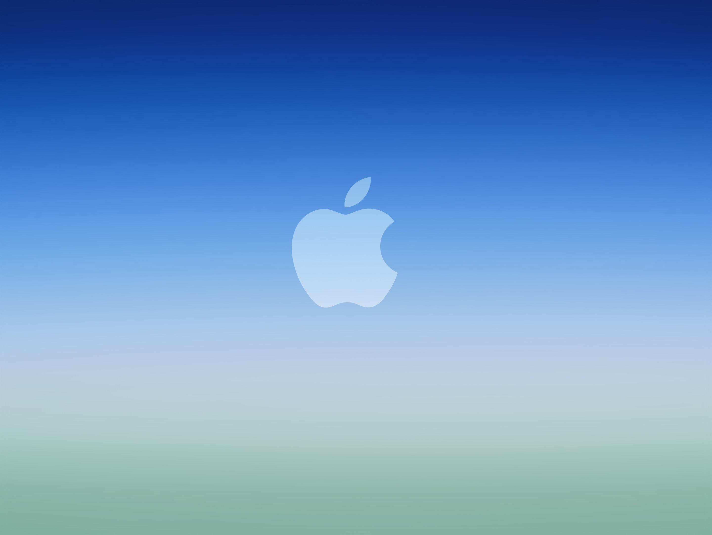 Res: 2880x2160, blue-ios-gradient-apple-logowallpaper