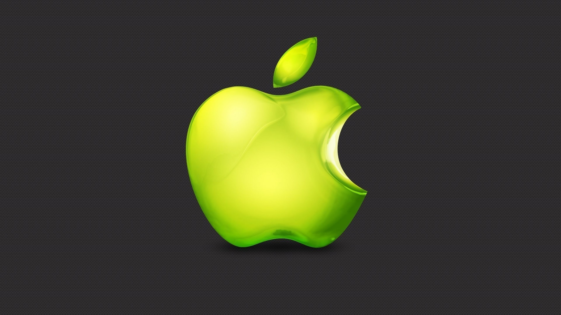 Res: 1920x1080,  Lime Green Apple Wallpaper | Apple Wallpapers