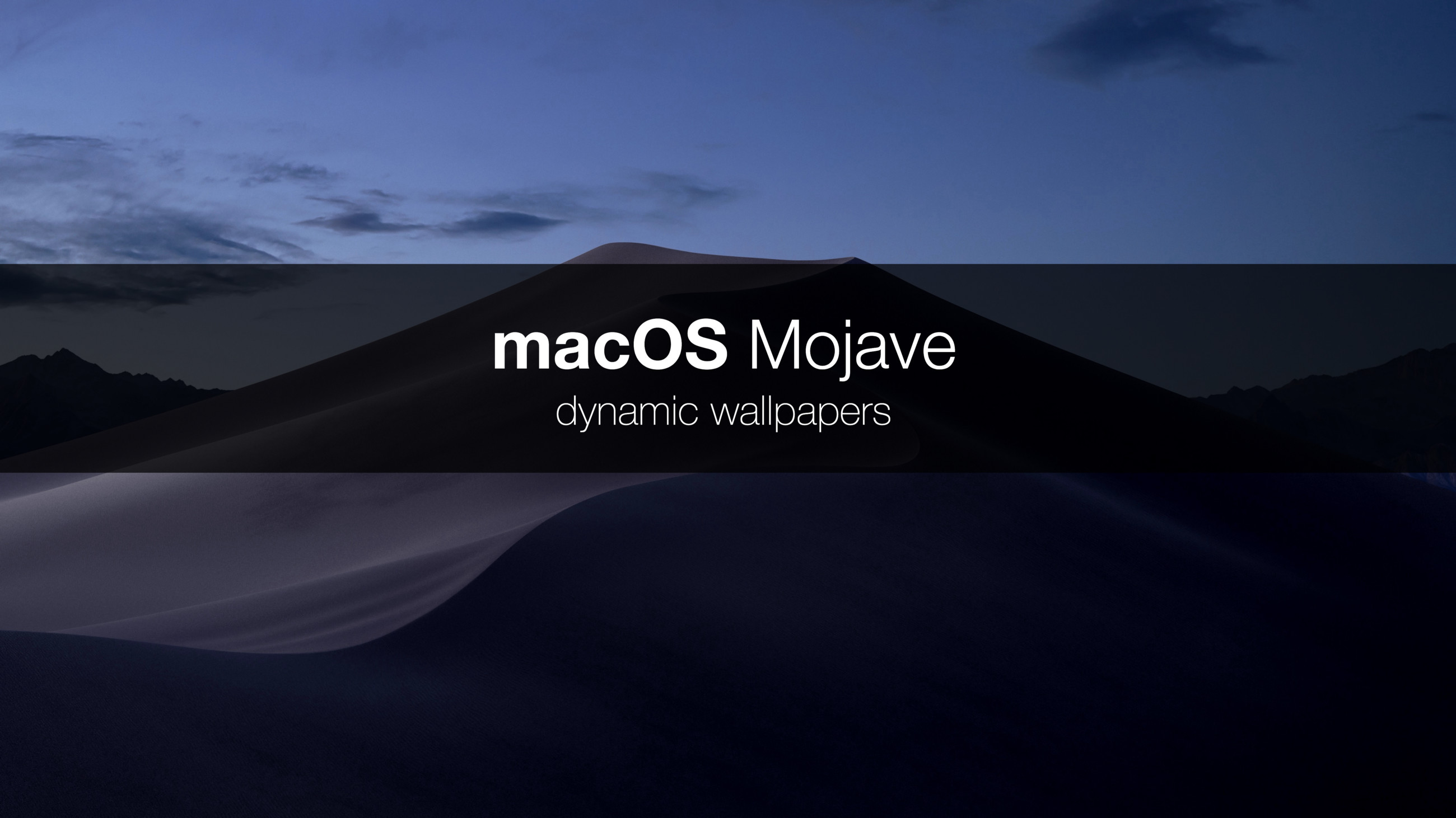 Res: 2600x1462, How Apple built dynamic wallpapers? And is it possible to create your own  dynamic wallpaper for macOS? I spent some time because I would like to  answer to ...