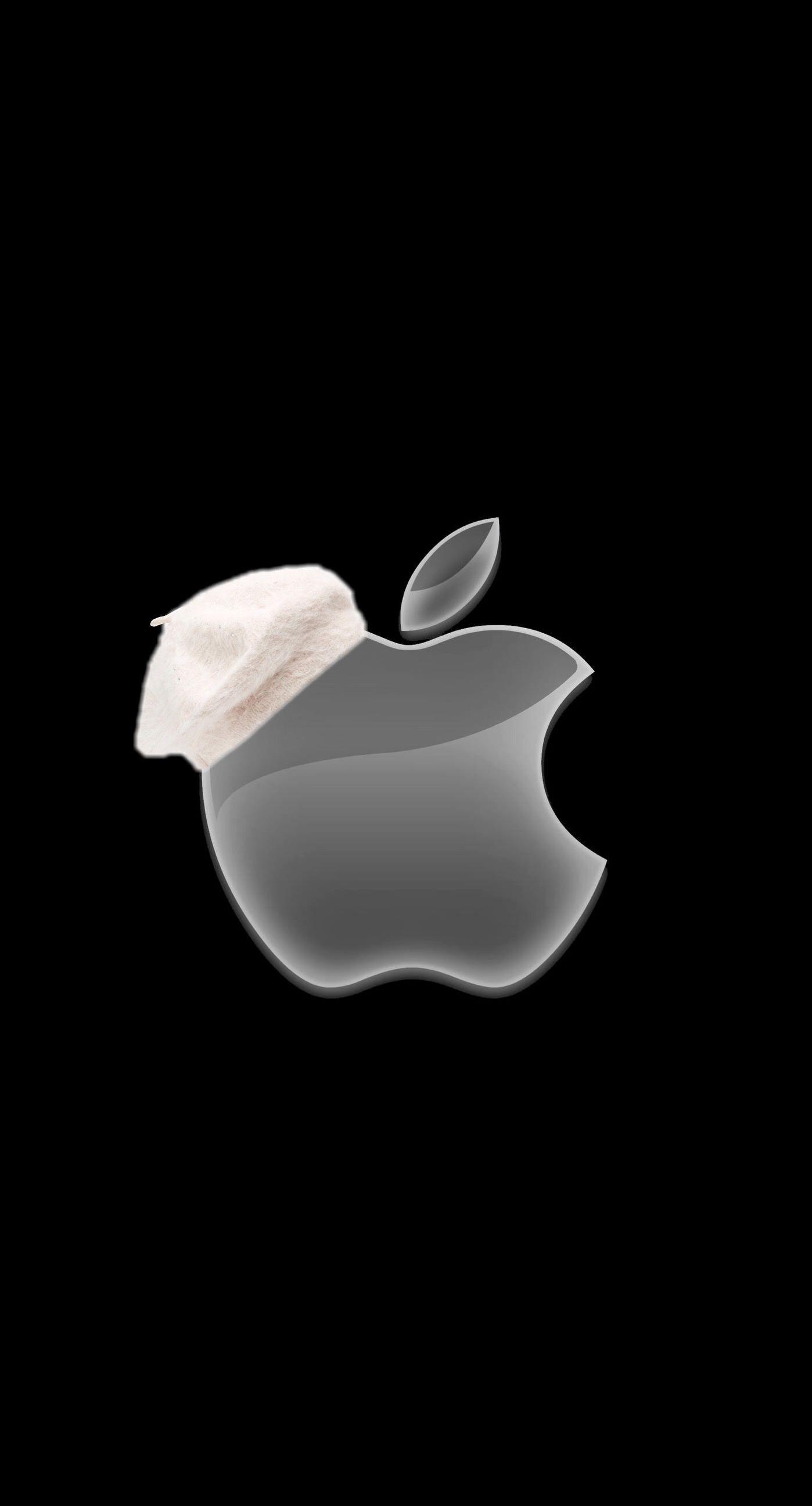 "Res: 1398x2592, 1125x2436 iPhoneXpapers.com | iPhone X wallpaper | ay45-apple-logo-ihate-dark  ..."">"