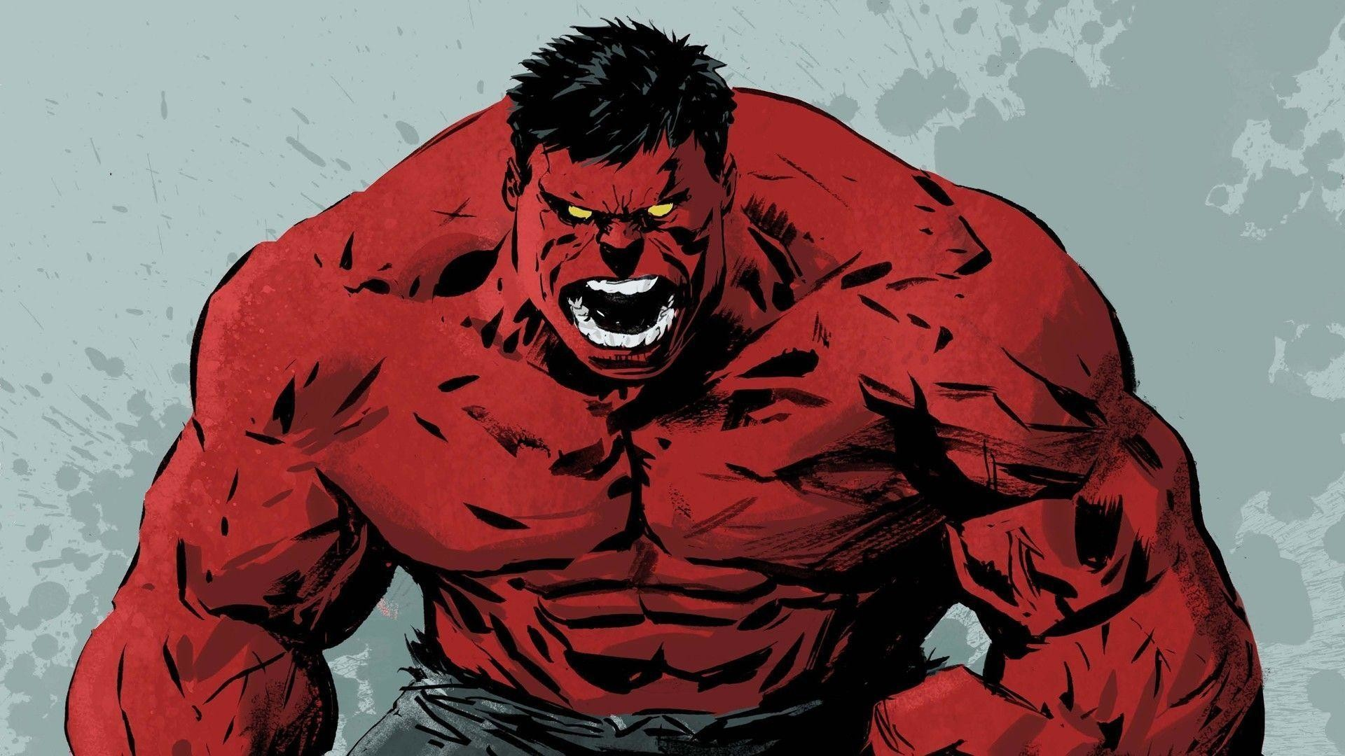 Res: 1920x1080, The Red Hulk Wallpaper - Viewing Gallery