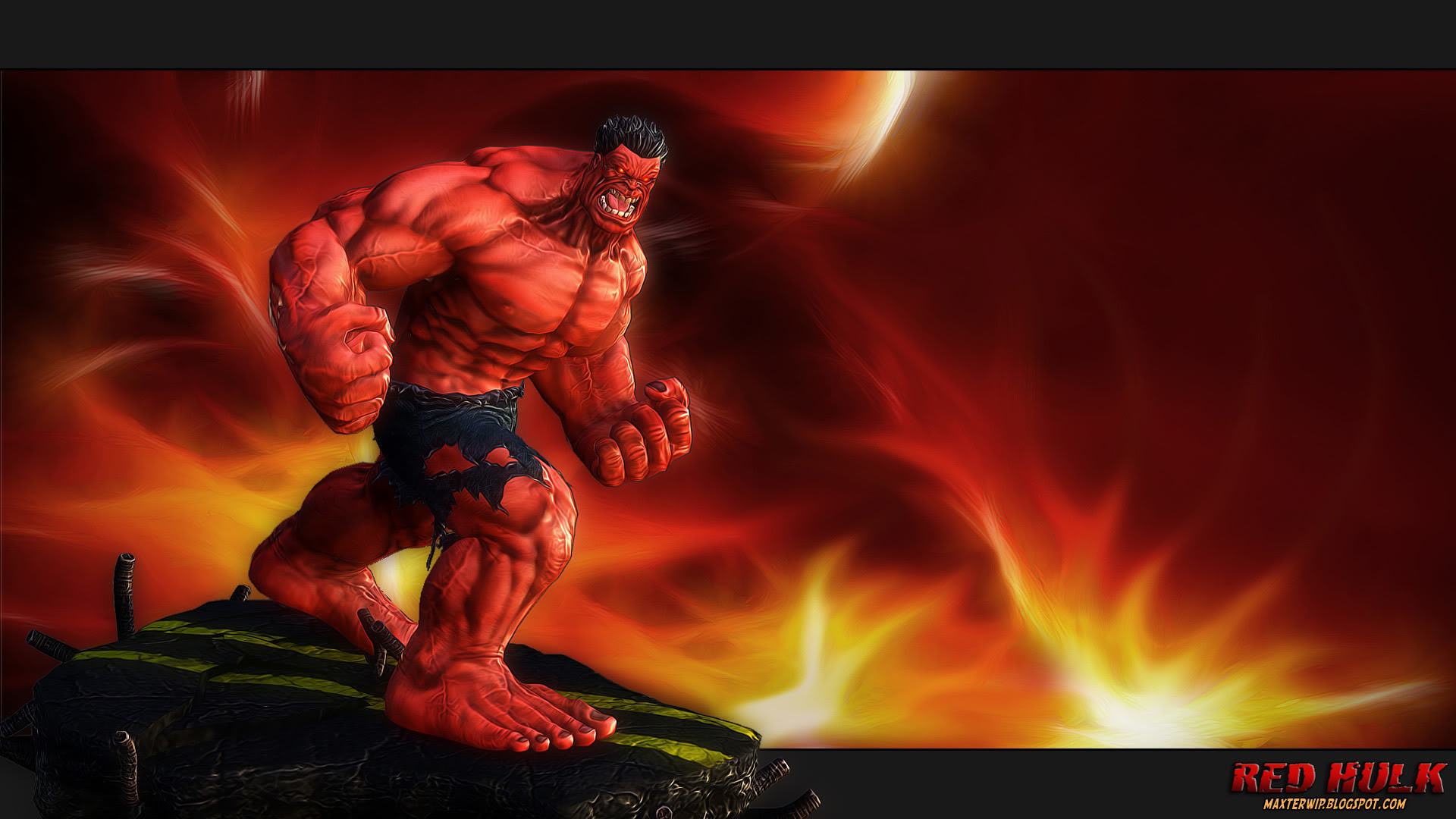 Res: 1920x1080, Red Hulk Wallpaper 15 - 1920 X 1080
