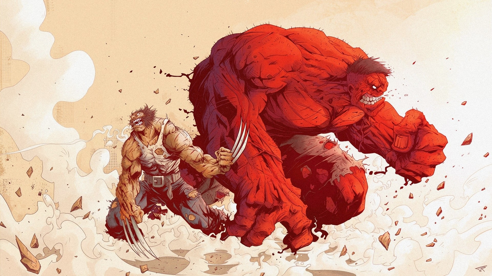 Res: 1920x1080, Hulk Red Hulk · HD Wallpaper | Background Image ID:696435