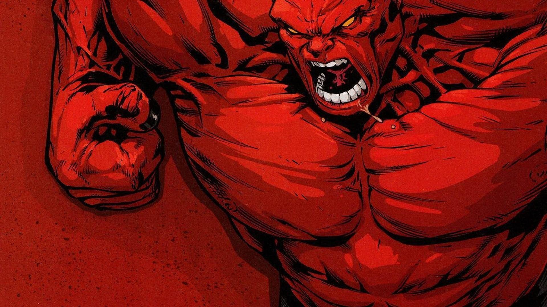 Res: 1920x1080, Red Hulk vs Green Hulk HD desktop wallpaper : High Definition .