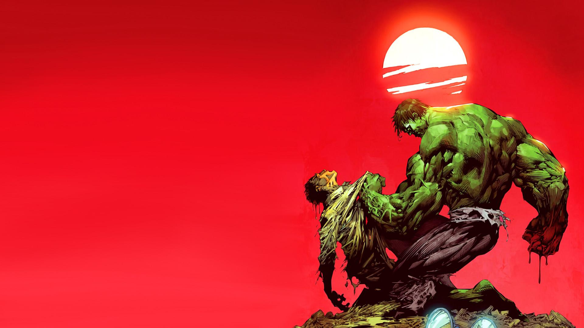 Res: 1920x1080, Red Hulk Wallpaper HD 13 - 1920 X 1080