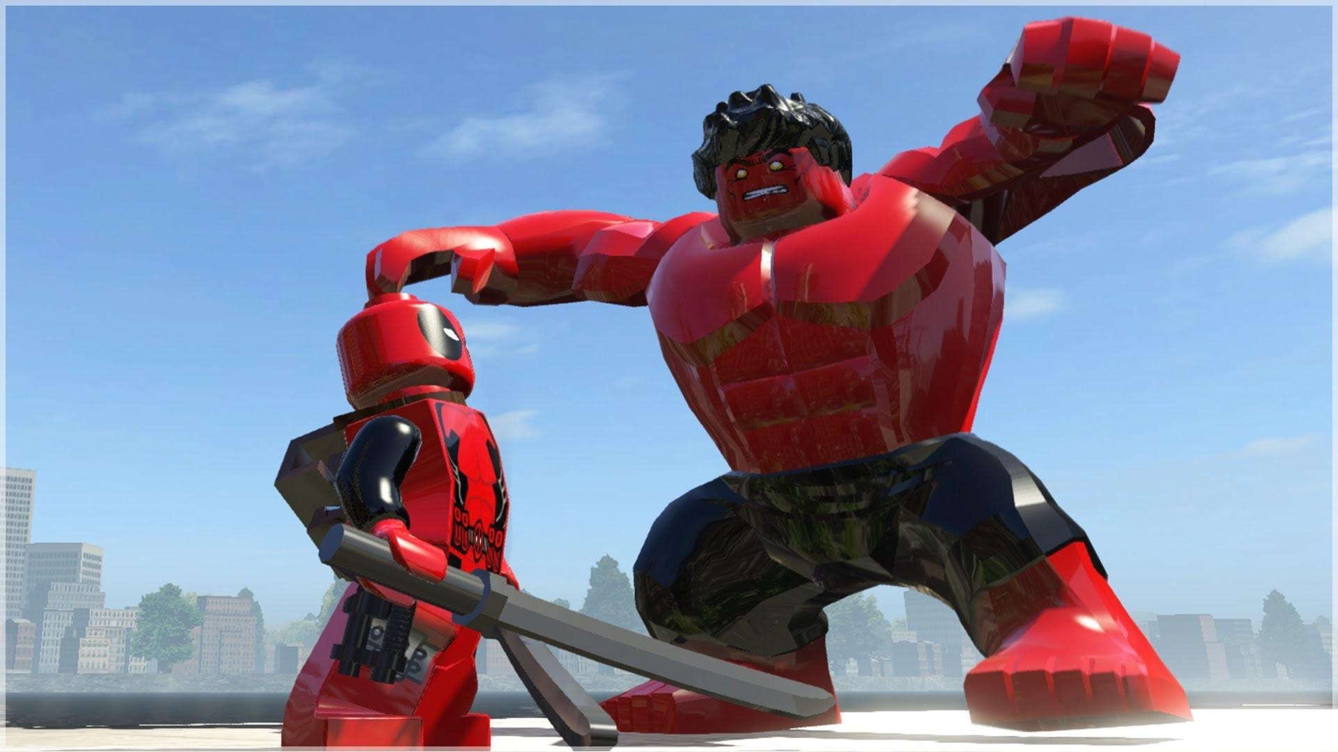 Res: 1920x1080, Red Hulk Wallpaper