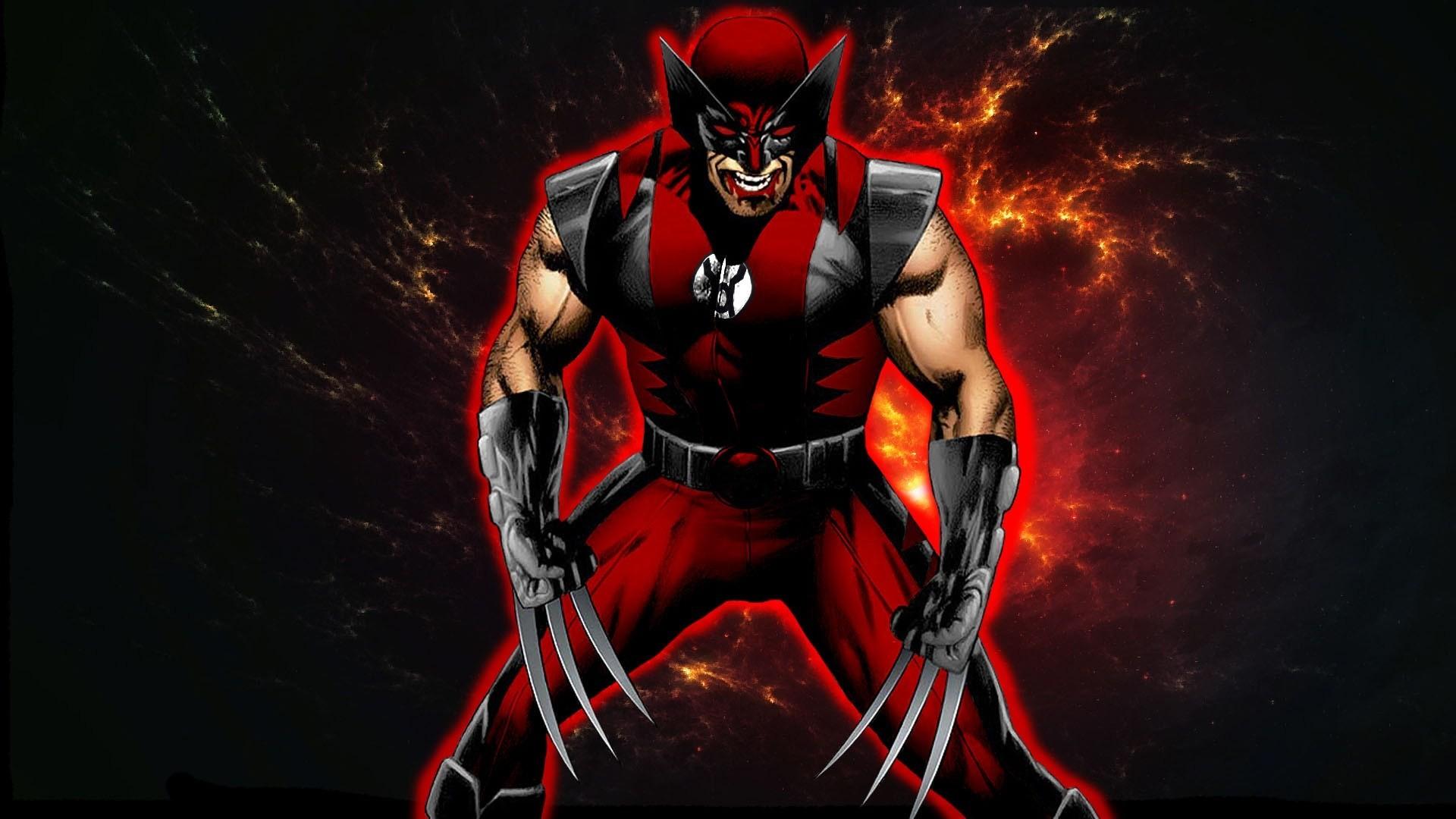Res: 1920x1080, Red Lantern Wolverine Vs Yellow Lantern Batman Whowouldwin