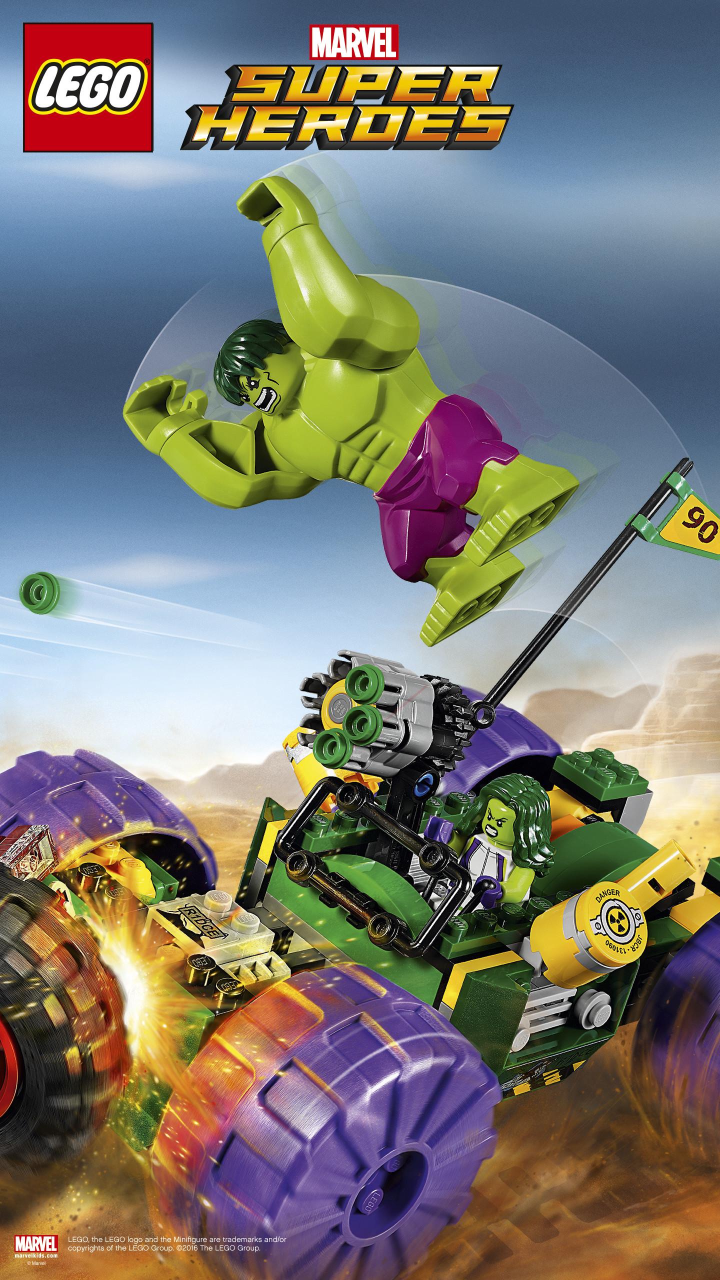 Res: 1440x2560, Hulk vs. Red Hulk. Brainiac Attack Wallpaper