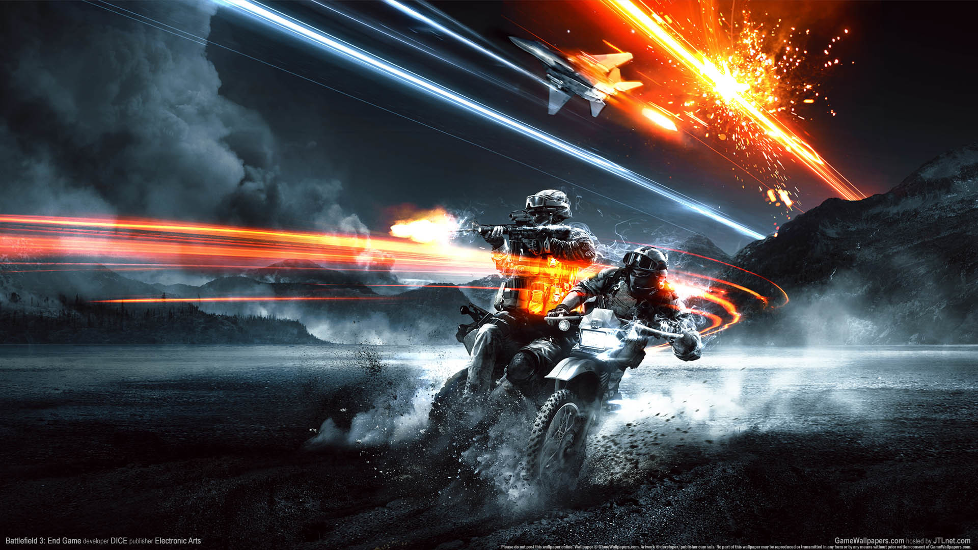 Res: 1920x1080, ... Battlefield 3: End Game wallpaper or background 01