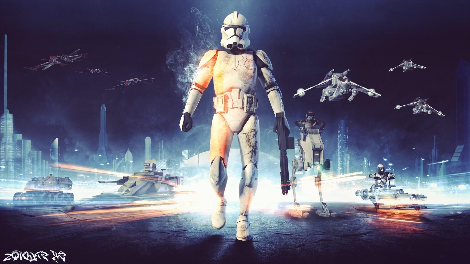 Res: 1920x1080, Star Wars, Stormtrooper, Battlefield 3, Video Games Wallpapers HD / Desktop  and Mobile Backgrounds
