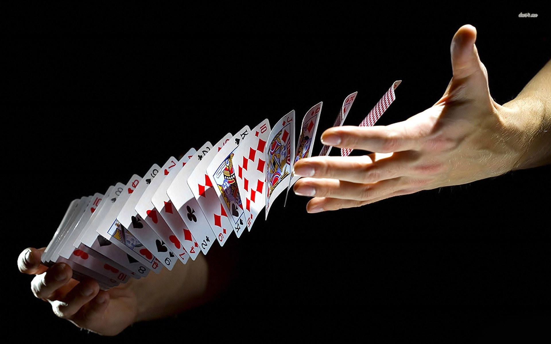 Res: 1920x1200, Poker cards wallpaper