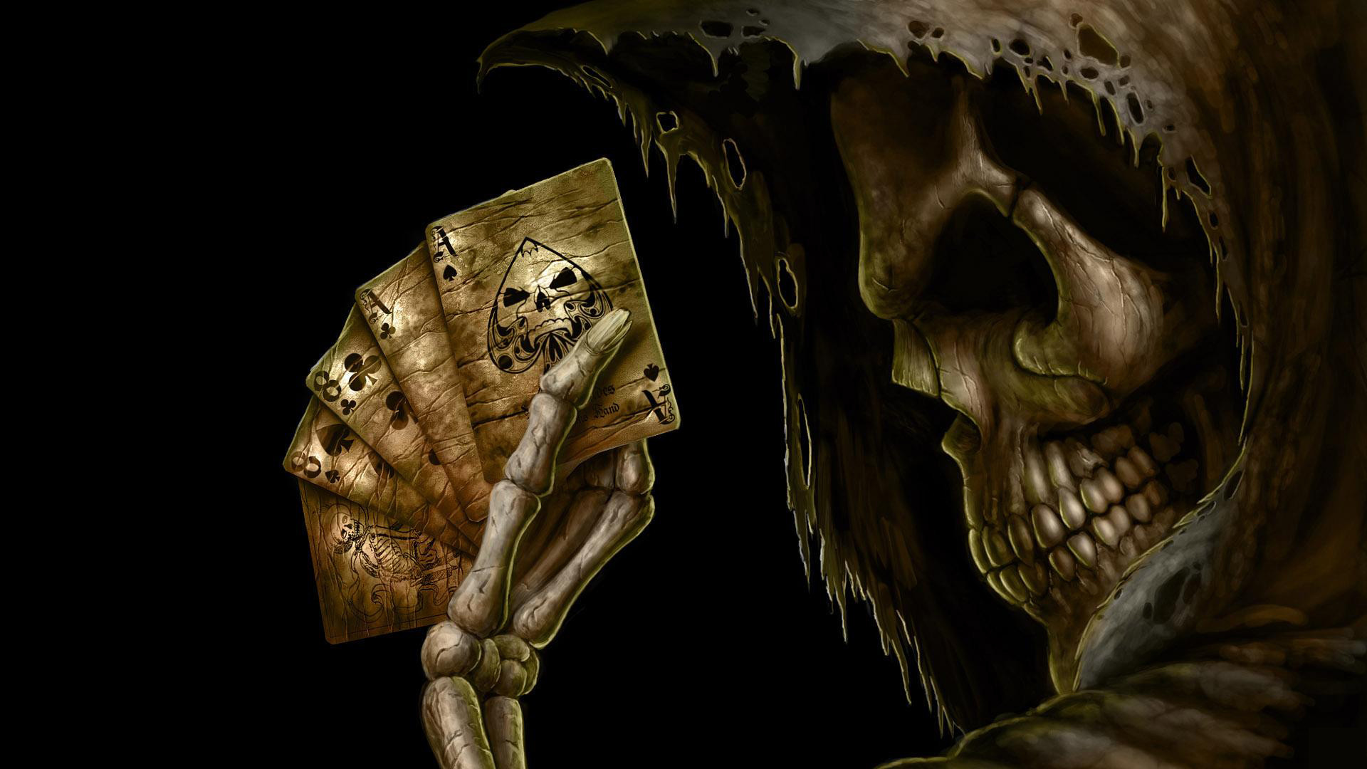 Res: 1920x1080, Deadmans Poker Hand Wallpaper