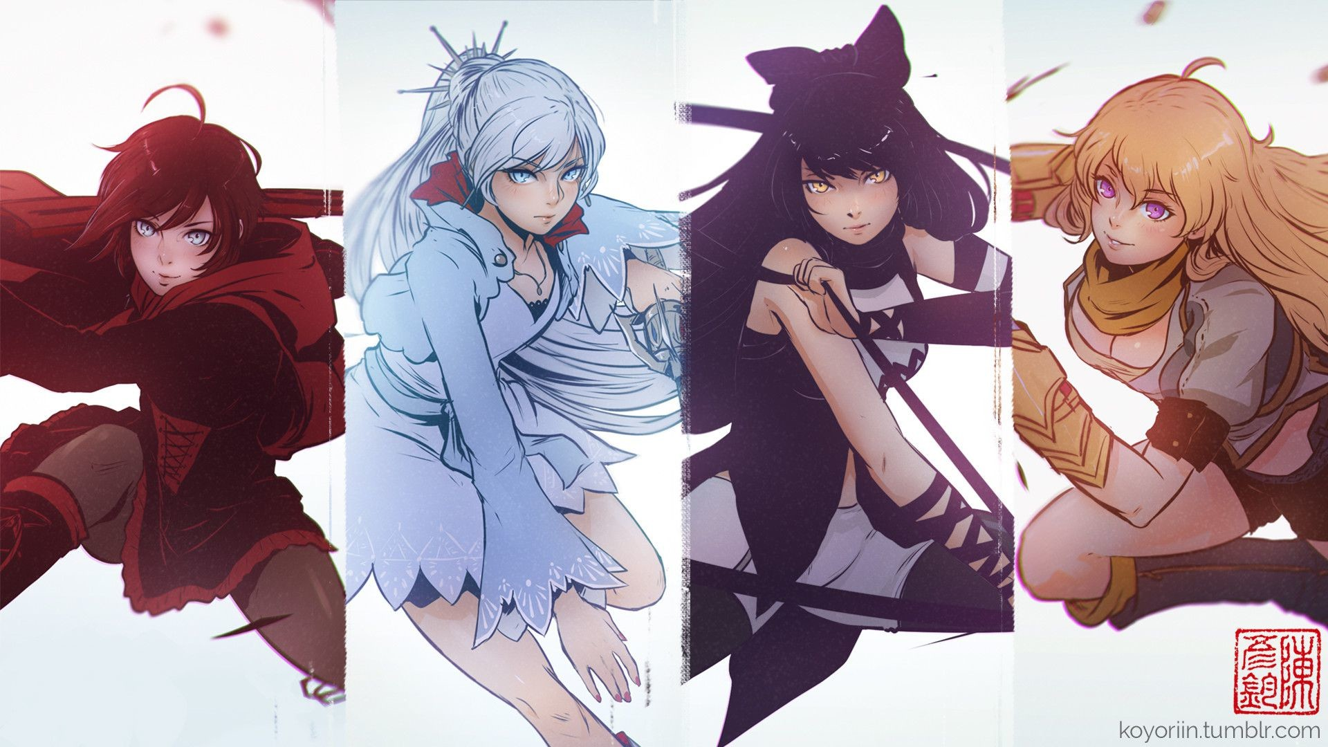 Res: 1920x1080, Anime Wallpapers. Download the following RWBY Blake ...