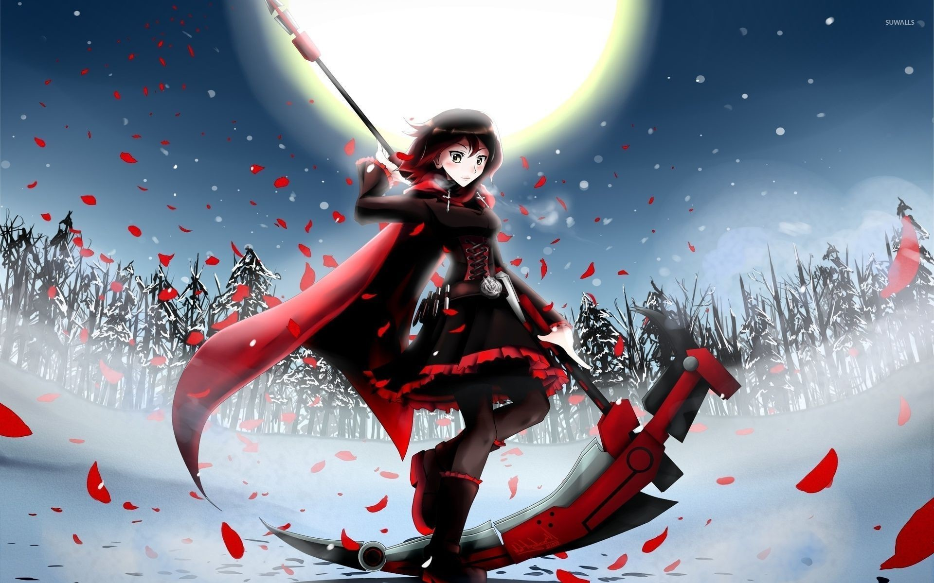 Res: 1920x1200, Ruby Rose RWBY wallpaper Anime wallpapers