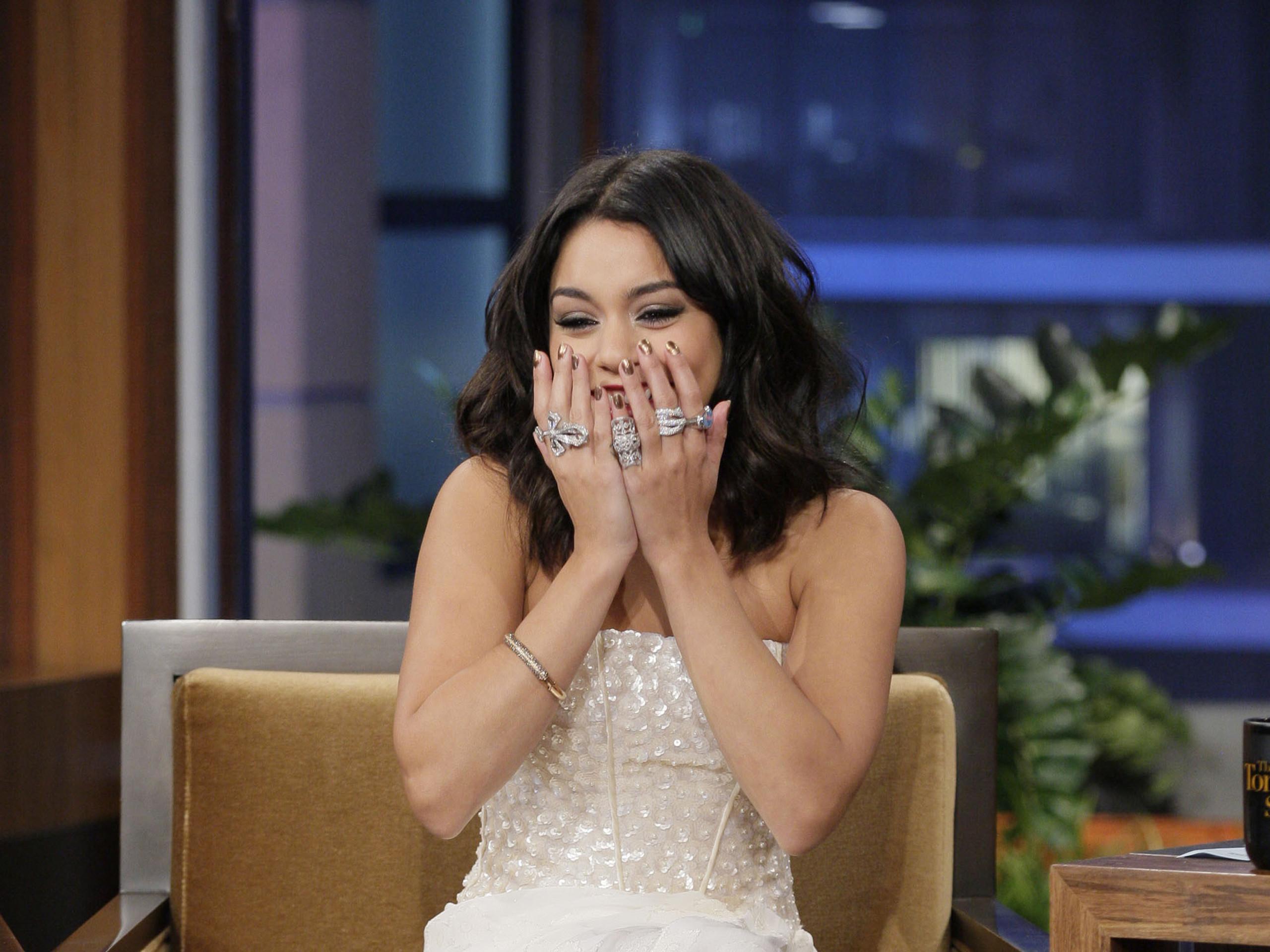 Res: 2560x1920, Vanessa Hudgens At Tonight Show With Jay Leno