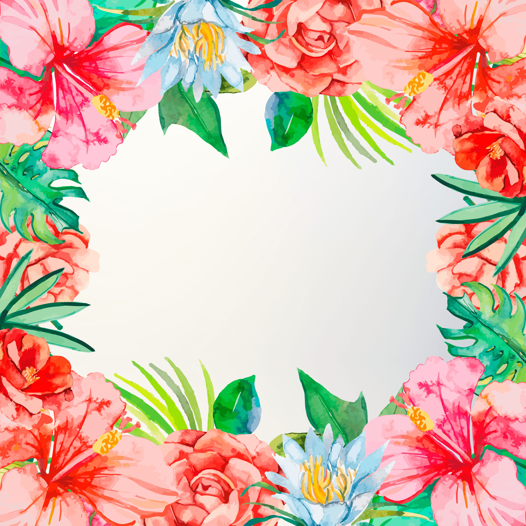 """Res: 2048x2048, 1600x1200 Tropical Flower Wallpaper 