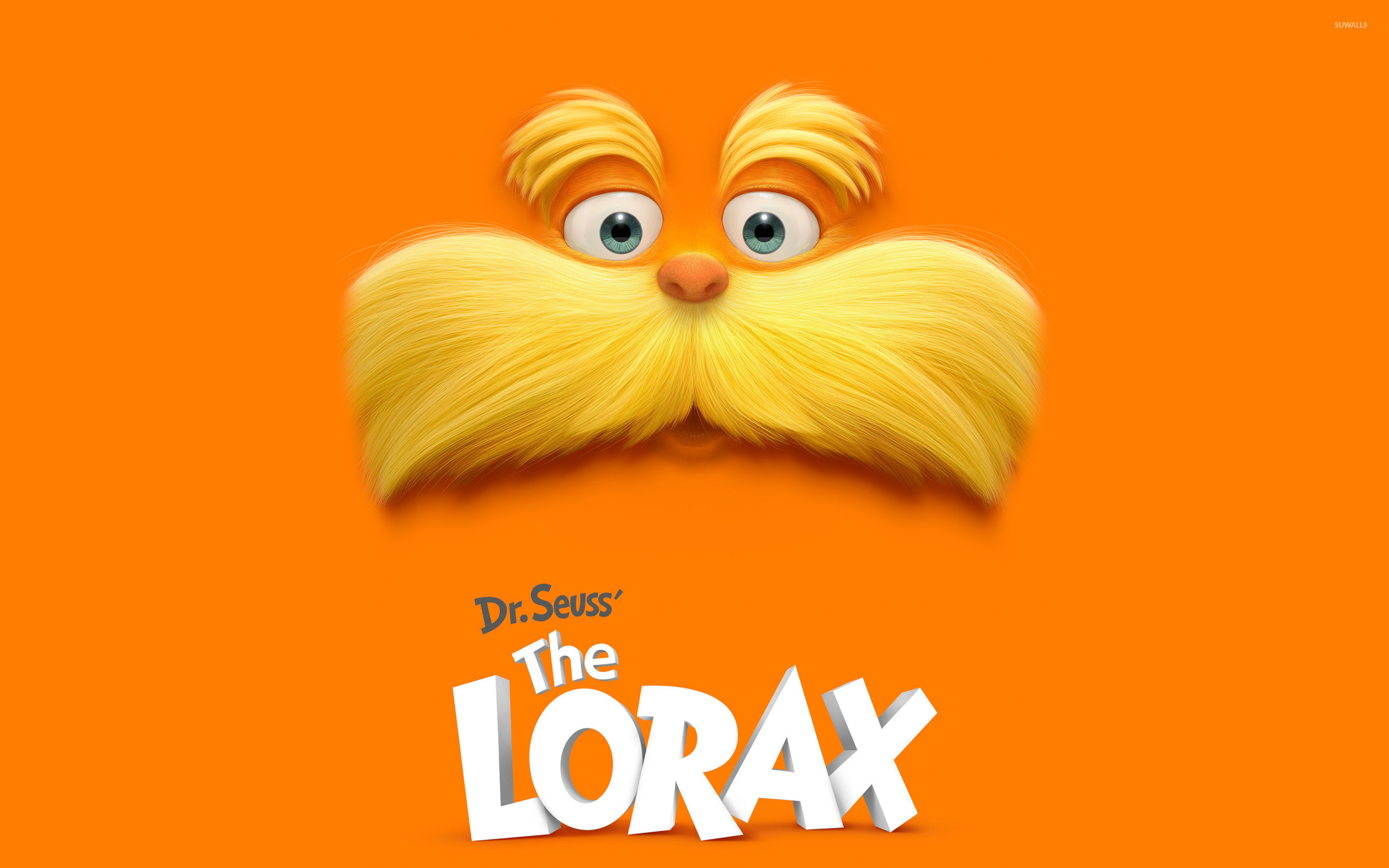 Res: 2560x1600, Dr. Seuss' The Lorax wallpaper