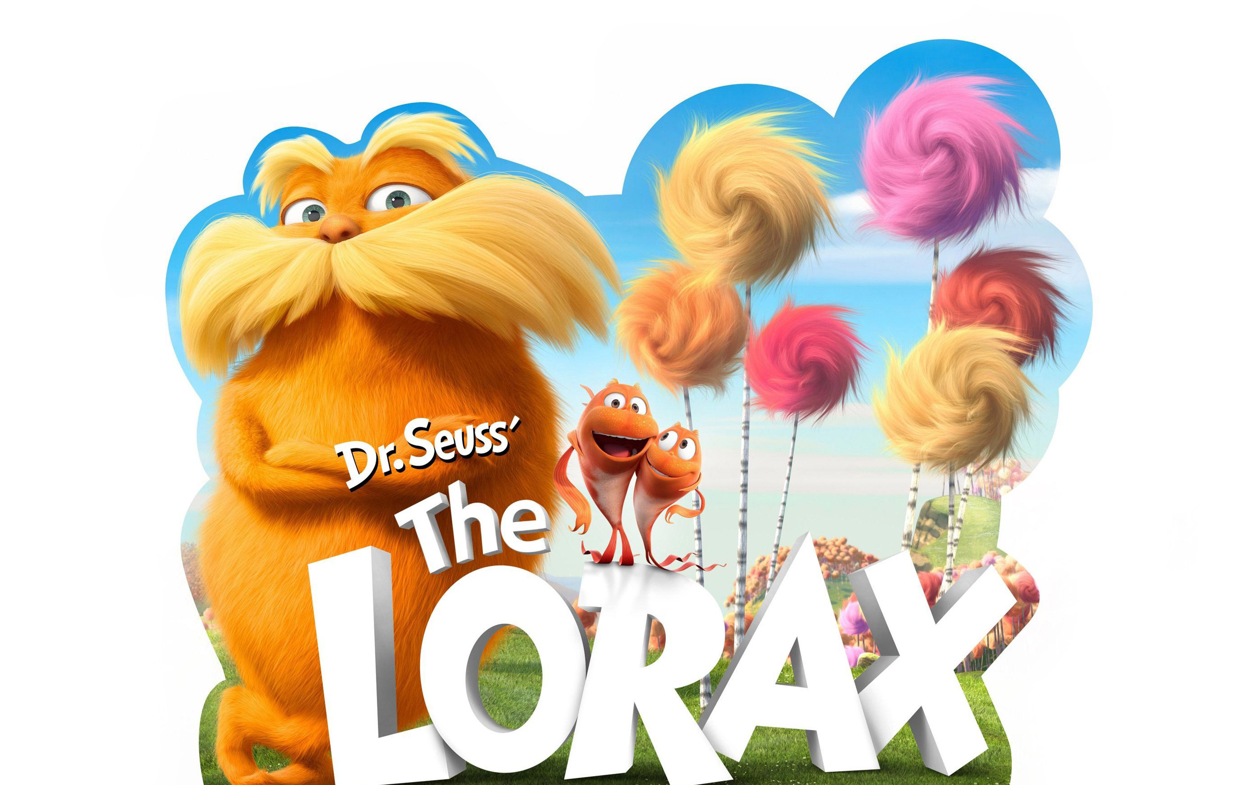 Res: 2560x1600, Dr Seuss The Lorax Movie