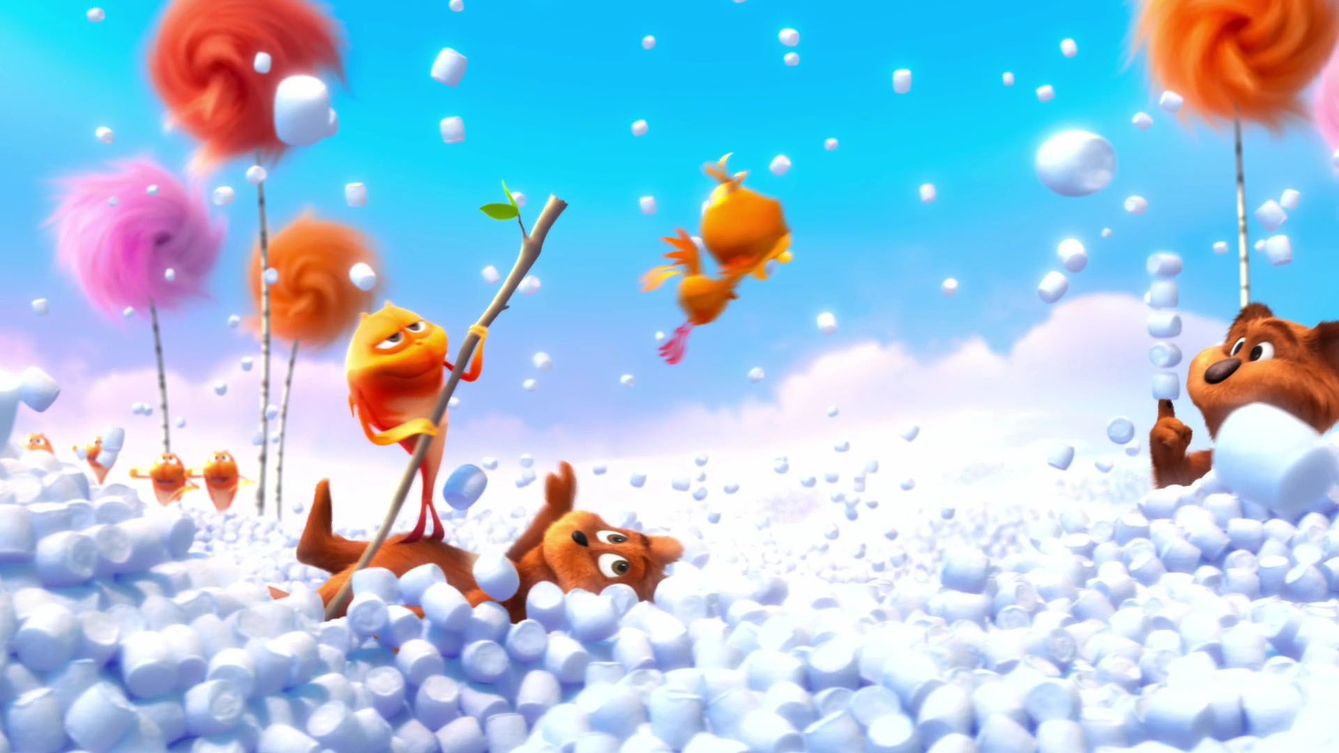 Res: 1920x1080, wallpaper.wiki-Cartoon-dr-seuss-the-lorax-wallpaper-