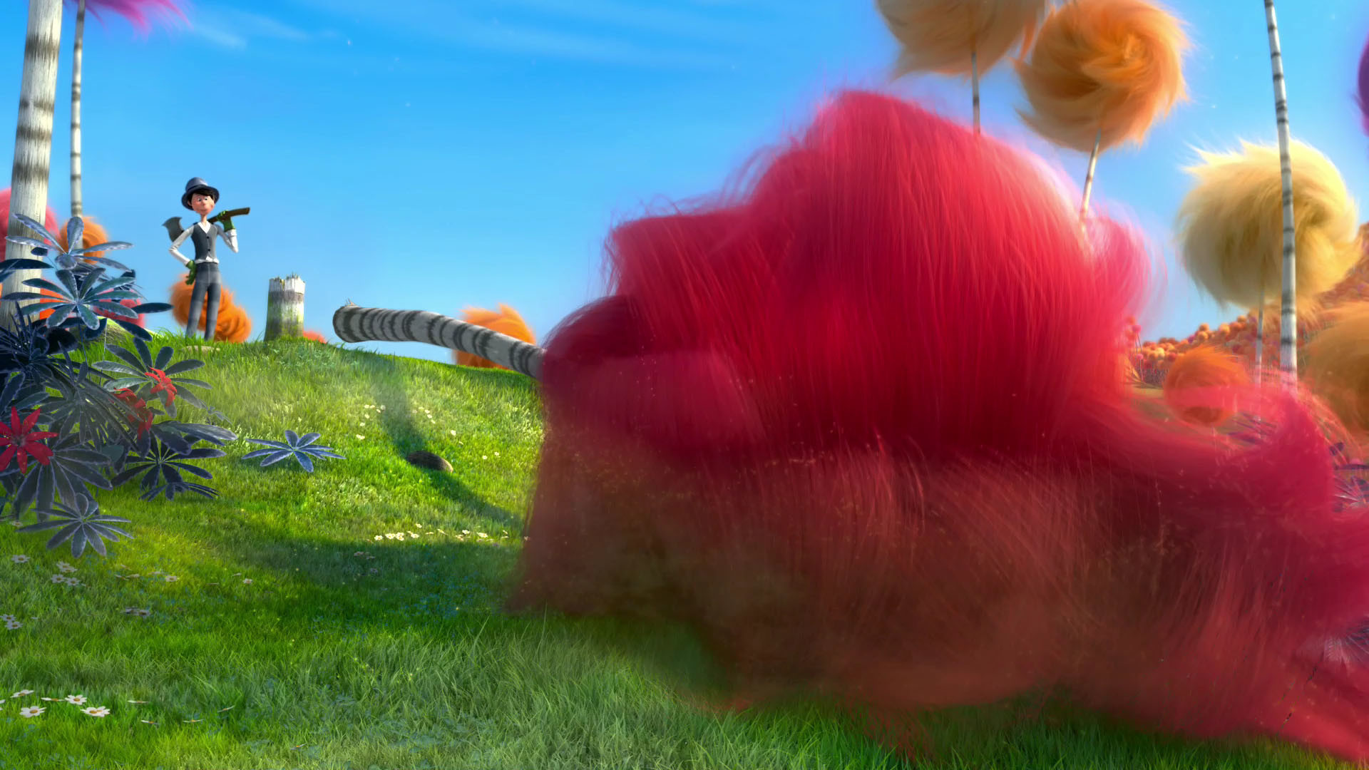 Res: 1920x1080, Dr. Seuss The Lorax Wallpaper
