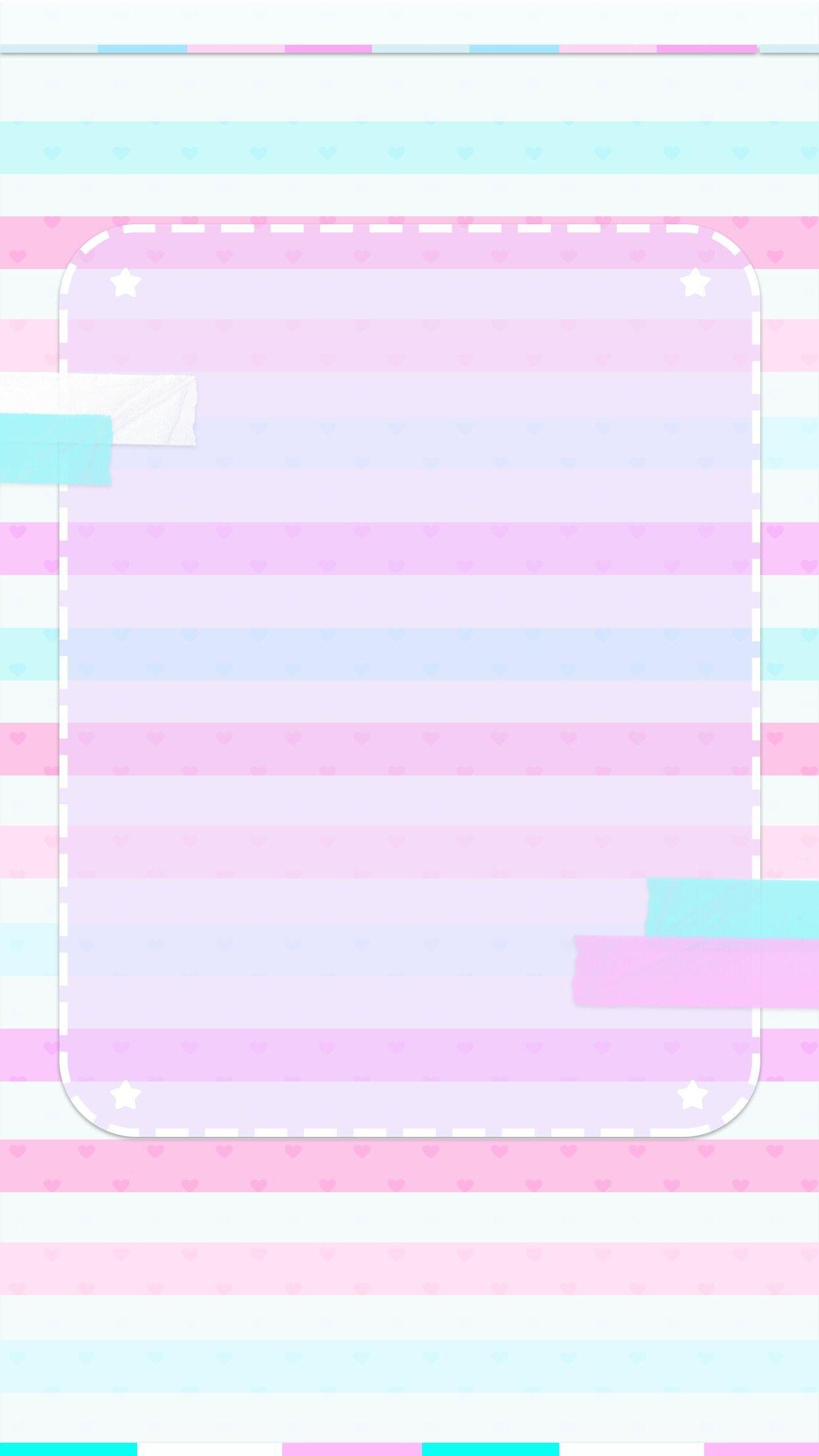 Res: 1242x2208, Cute pastel wallpaper