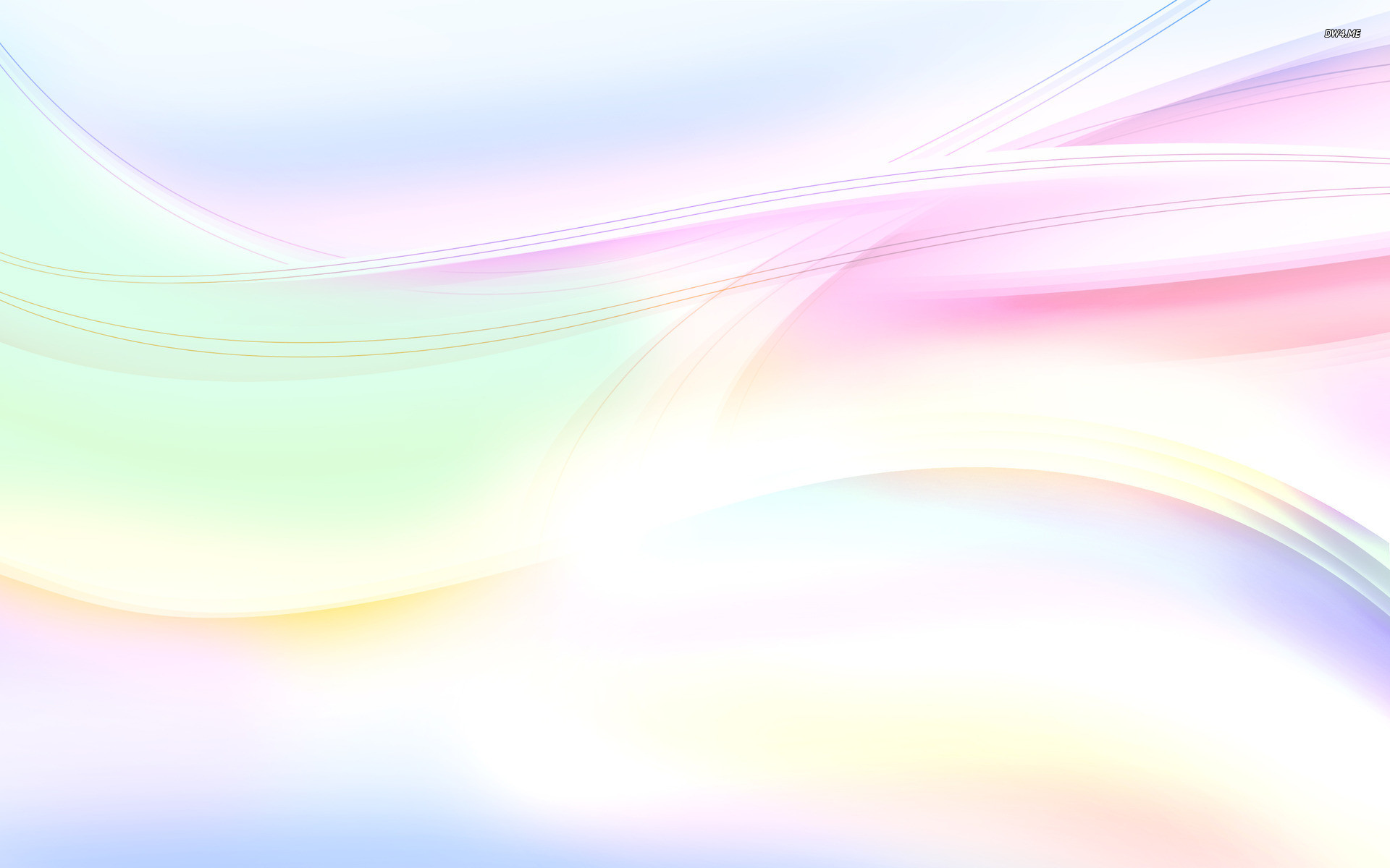 Res: 1920x1200, Pastel curves wallpaper Abstract wallpapers 1552