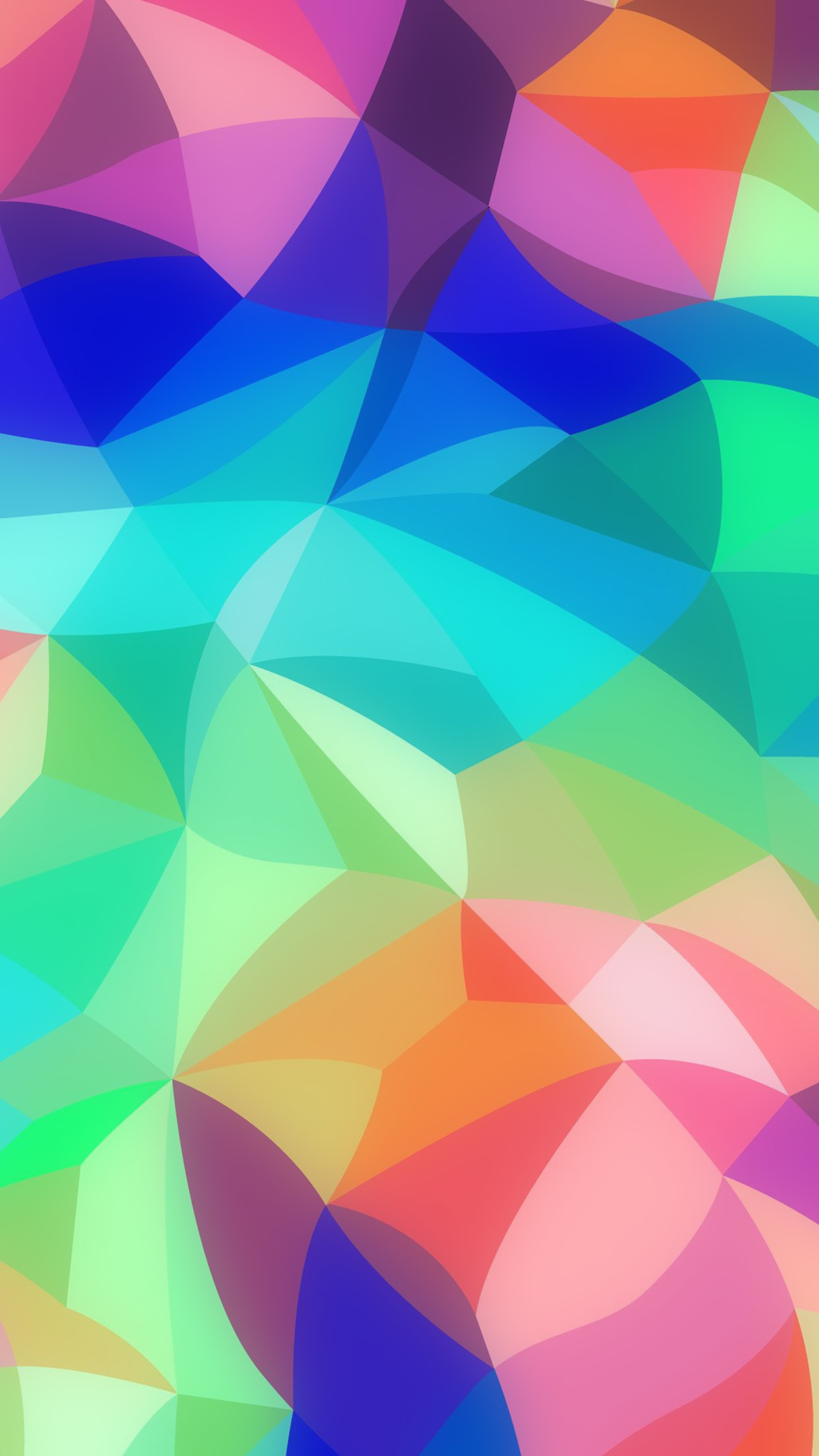 Res: 1242x2208, vk40-rainbow-abstract-colors-pastel-pattern