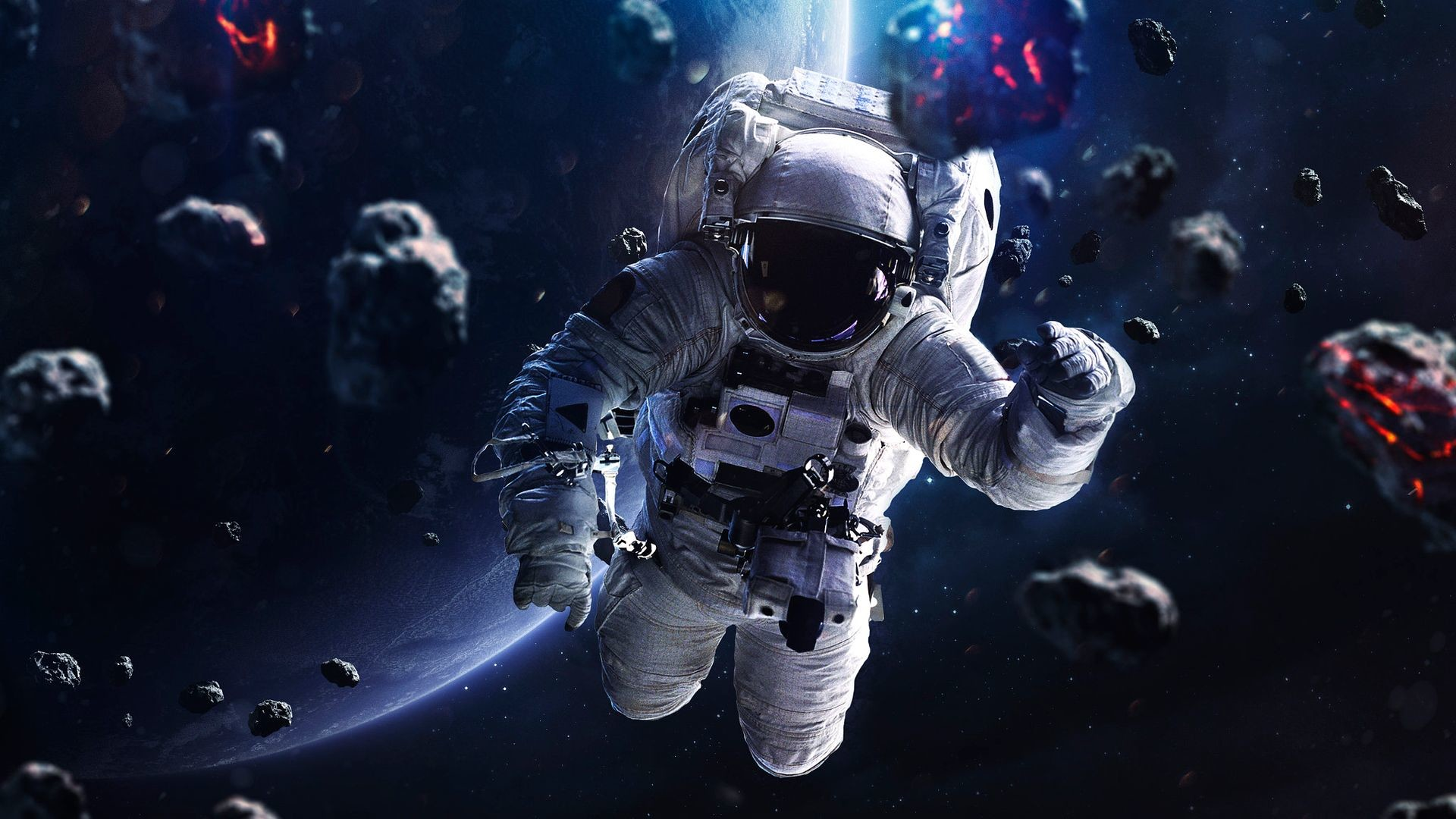 Res: 1920x1080, Space Astronaut Wallpaper