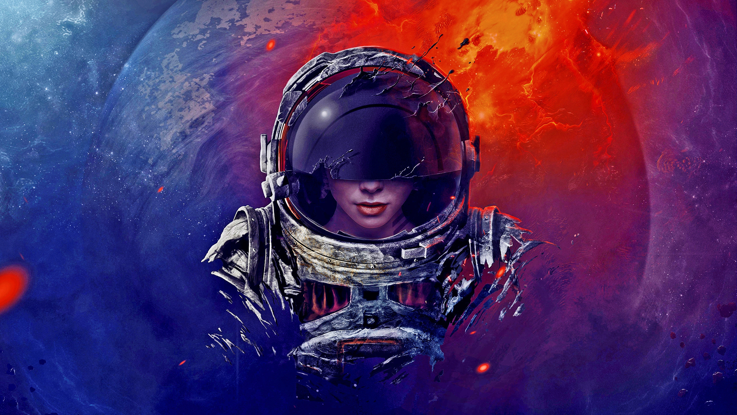 Res: 2560x1440, Back to 63+ Free Astronaut Wallpapers HD